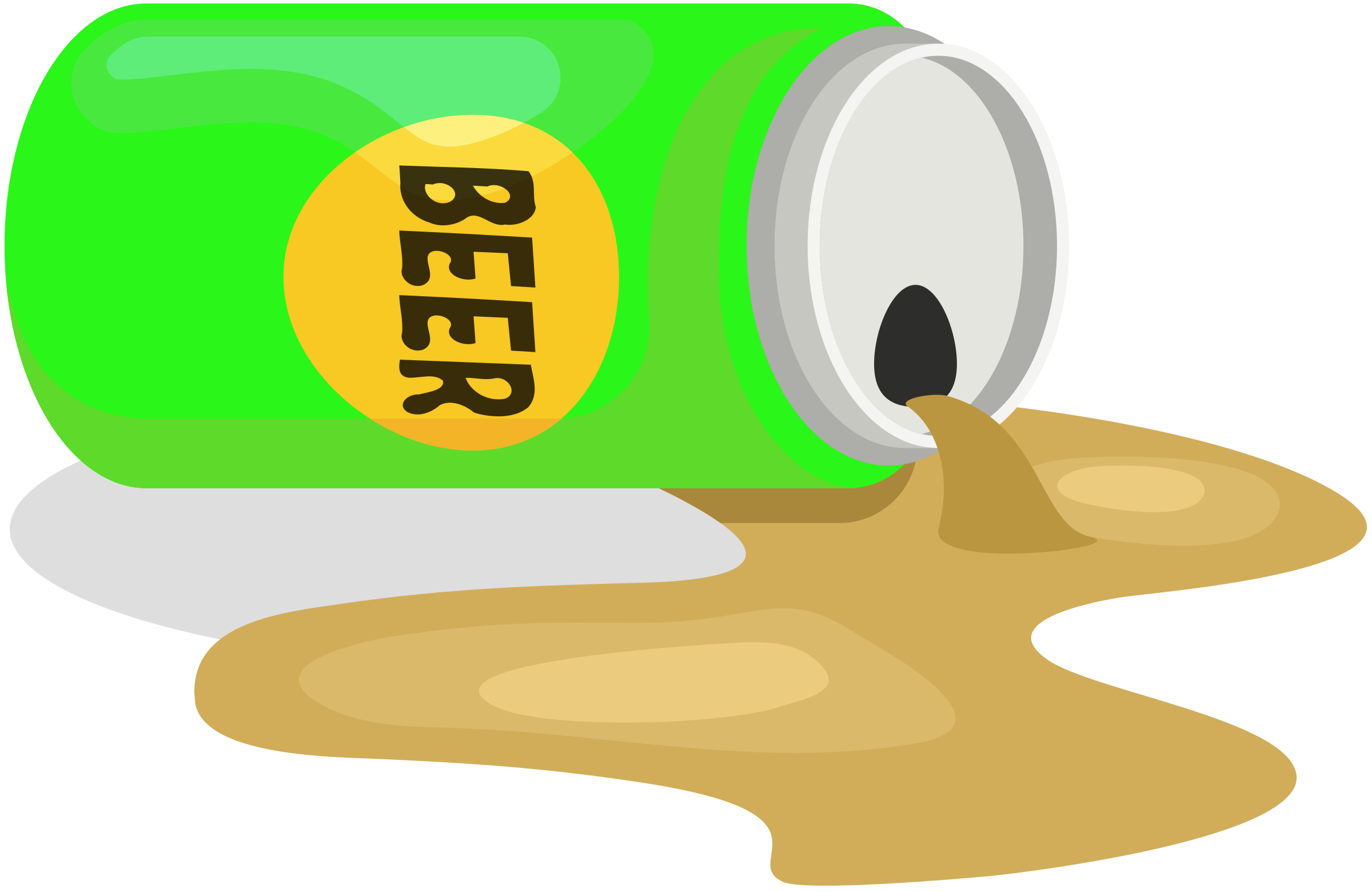 Spilled Beer by j4p4n