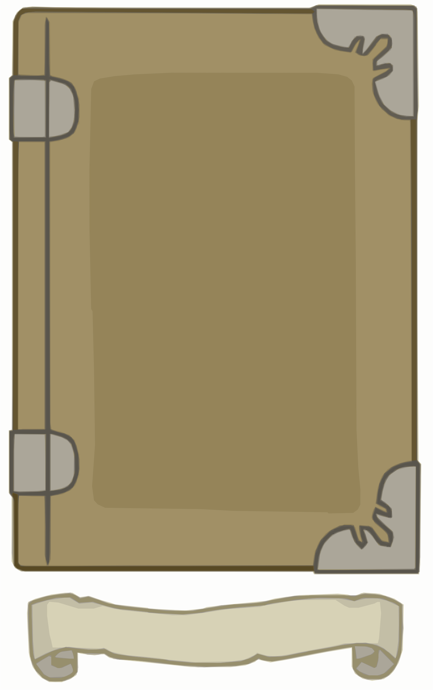 Light Brown Book template by Falco276