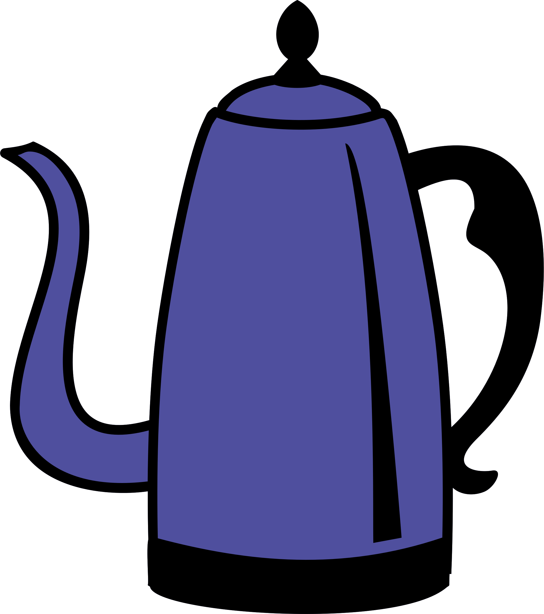 Coffee pot by Firkin
