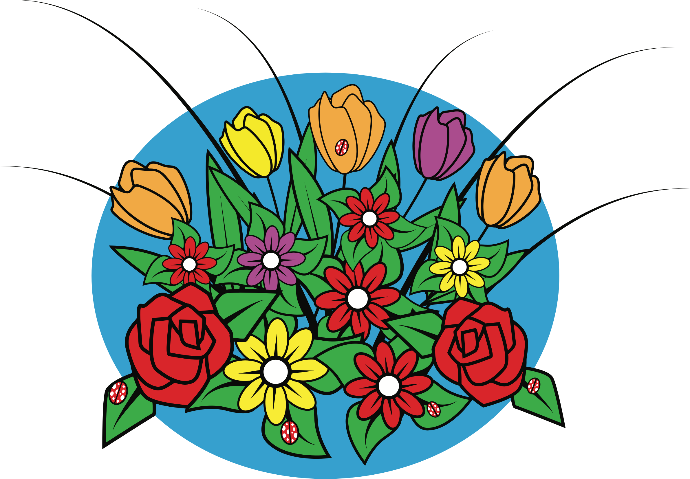 Clipart Spring Flowers