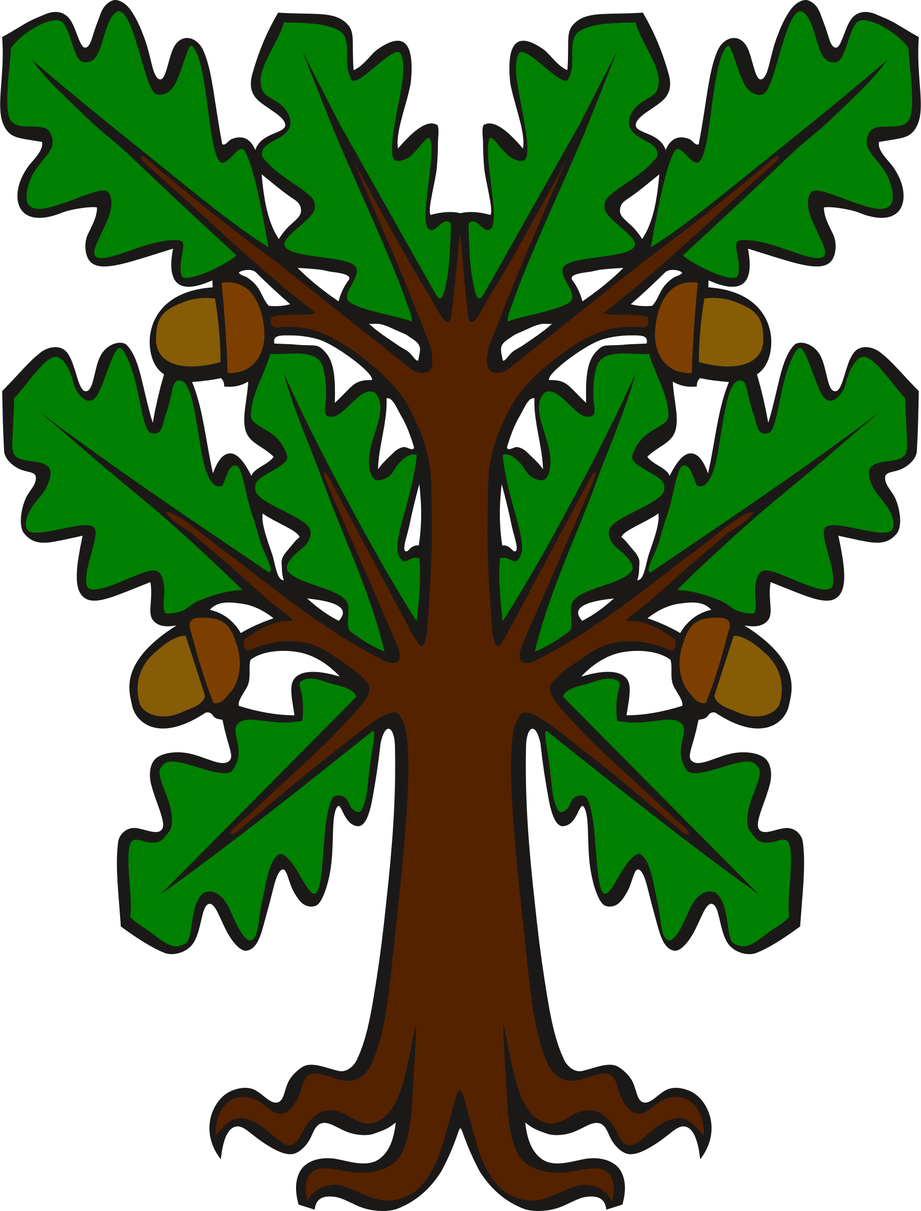Stylised oak by Firkin