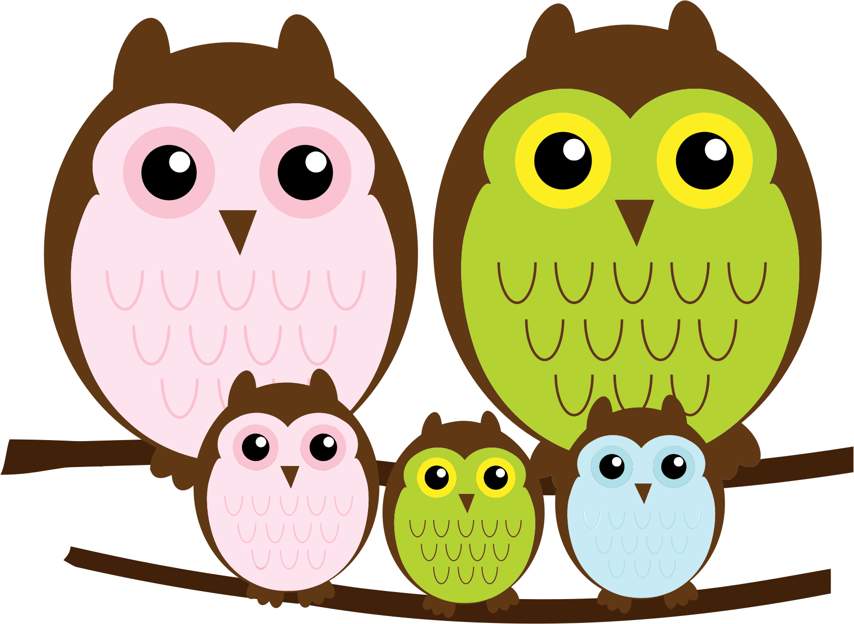 Owl family by ale92sc