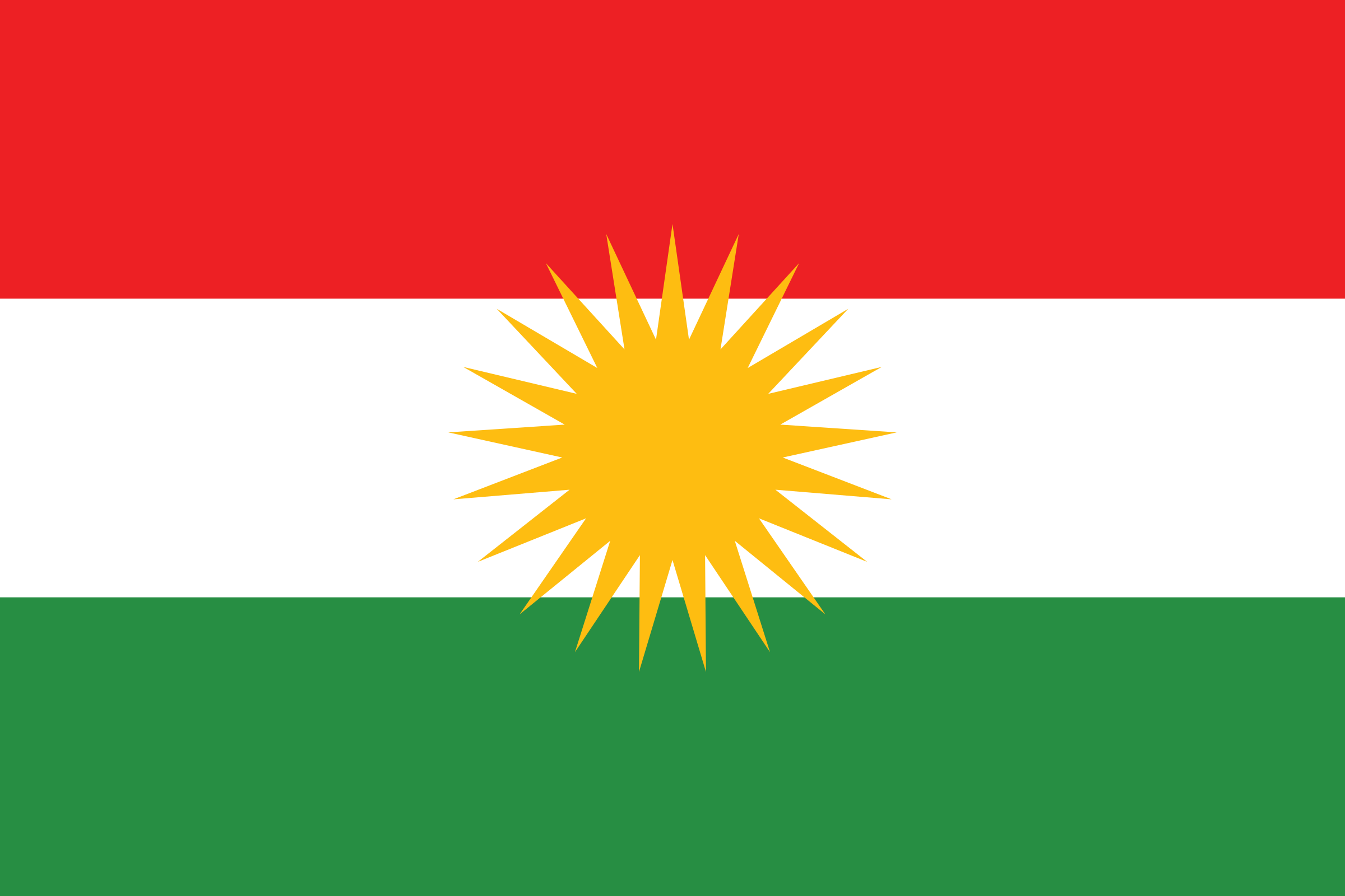 Flag of Kurdistan by linux99