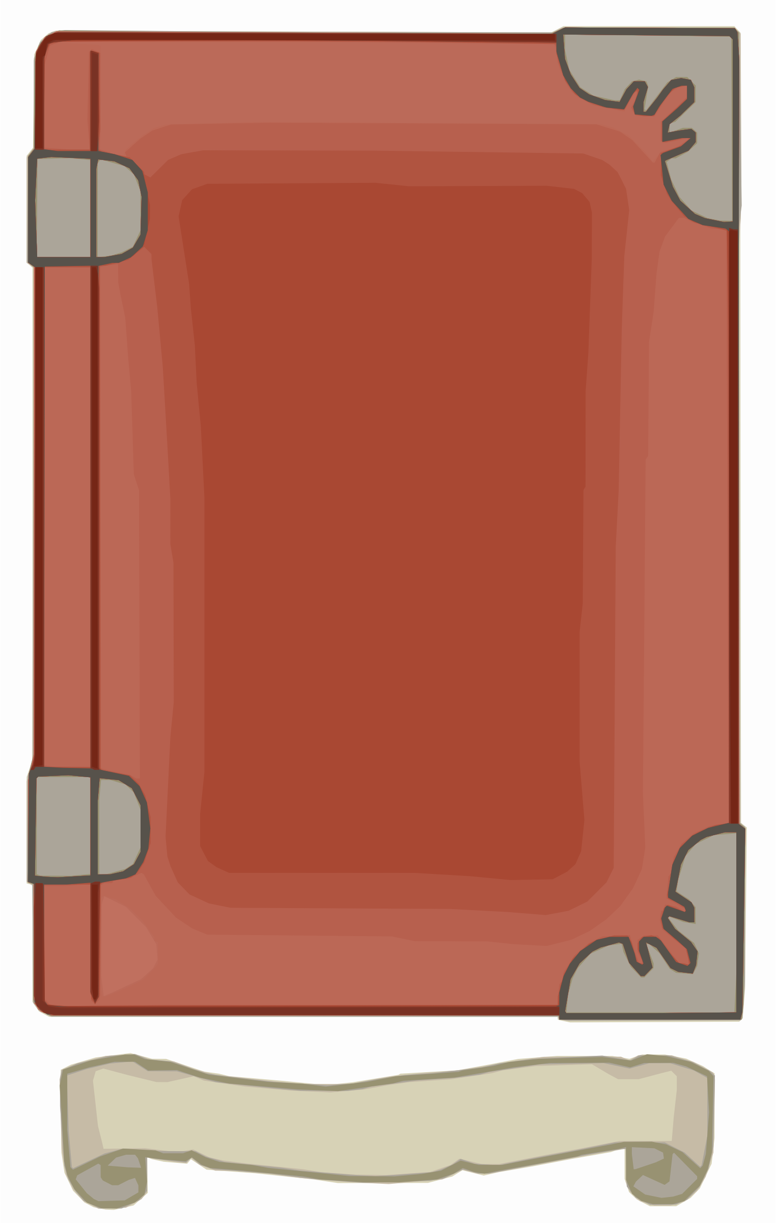 Red Book Template by Falco276