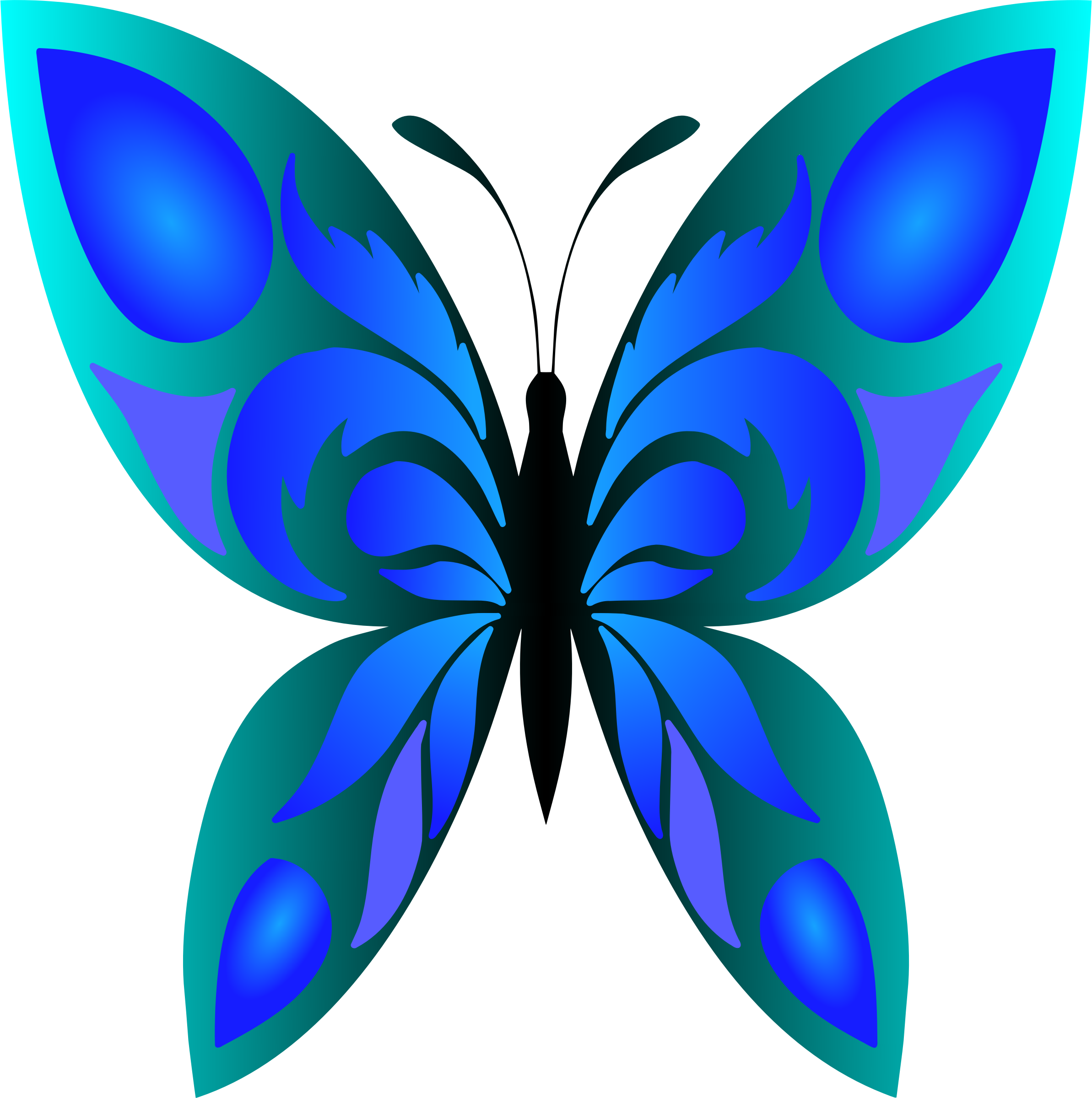 clipart butterfly 34  colour 5 wings clipart black and white wings clip art eagle