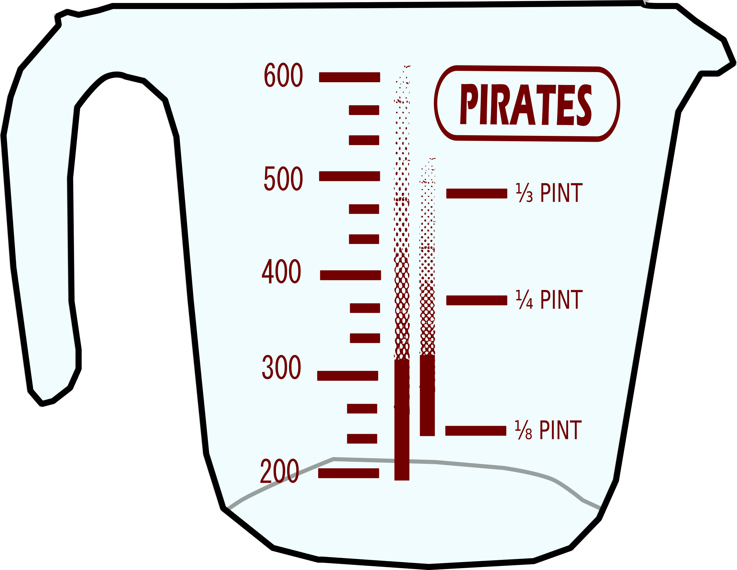 Pirates Mug by j4p4n