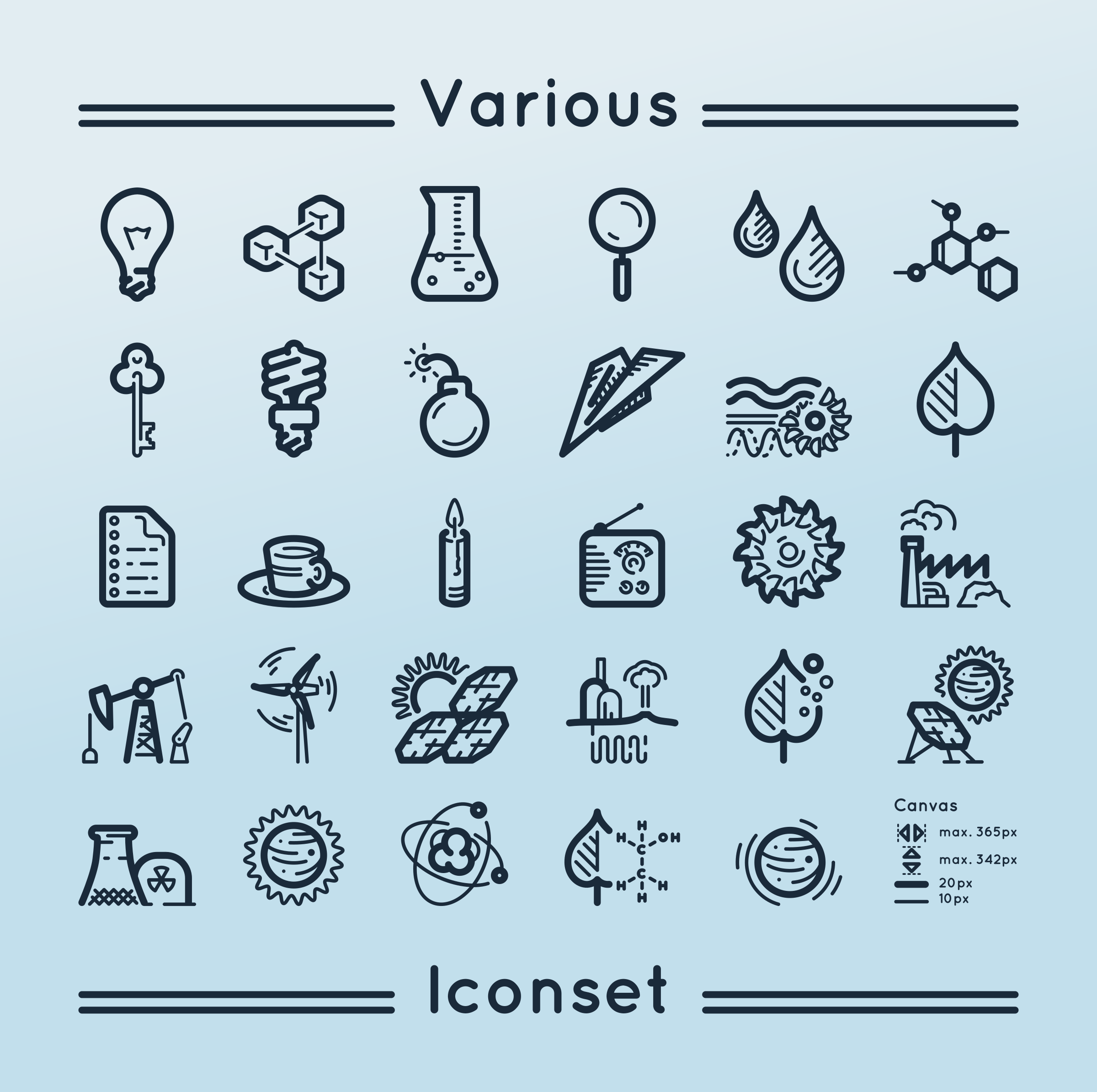 Various iconset 2 by m1981