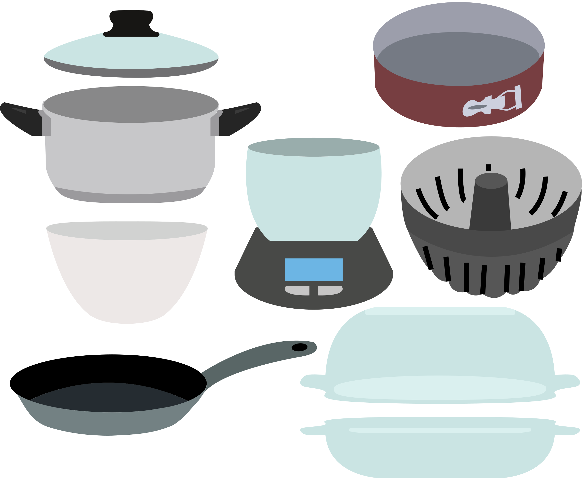 Pots and Pans by SunKing2