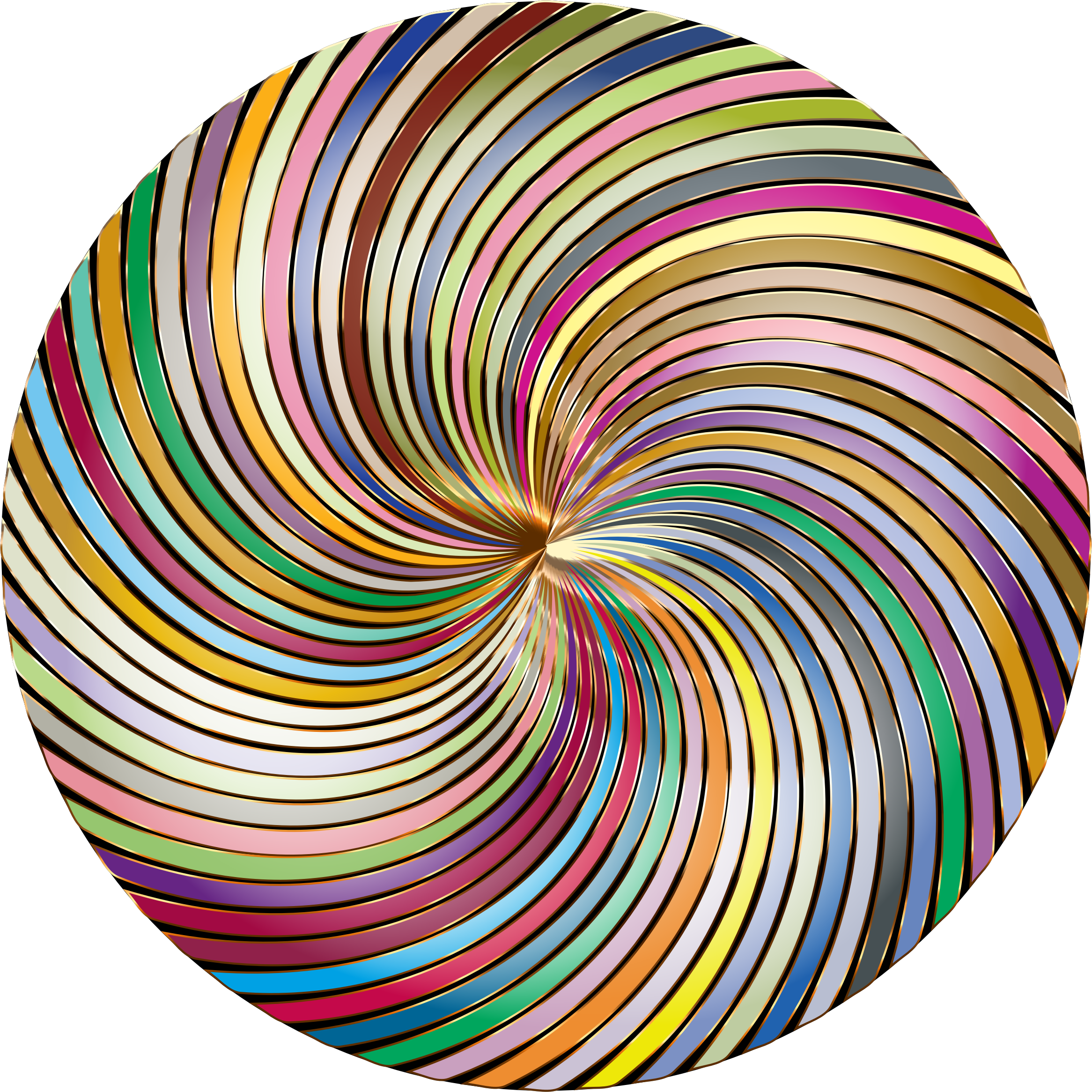 Chromatic Twirly Swirly Thing 2 by GDJ