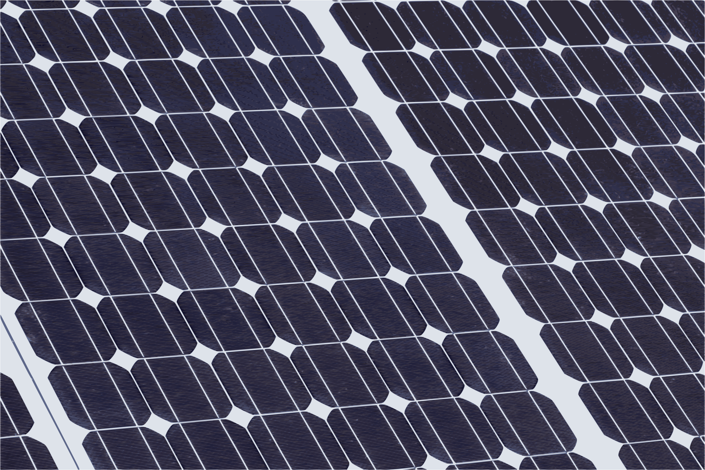 Solar Panel Closeup by j4p4n