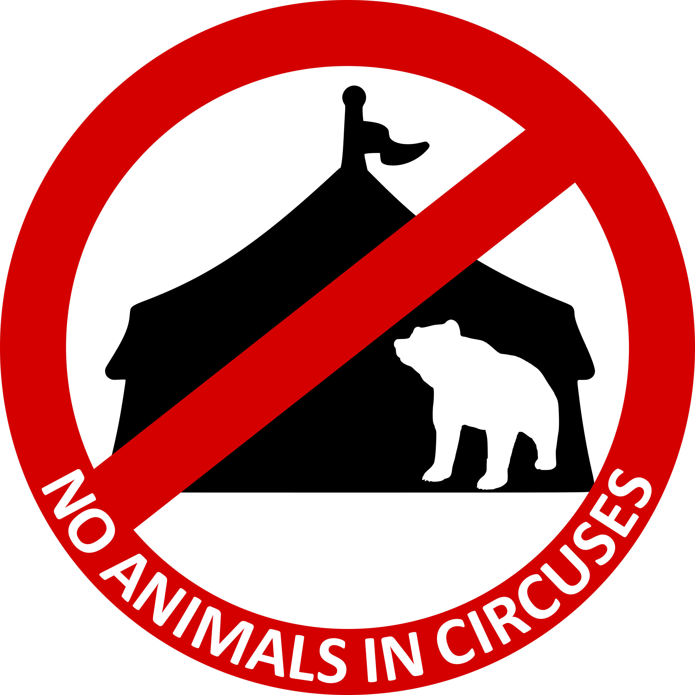 No Animals in circuses 3 by Chrisdesign