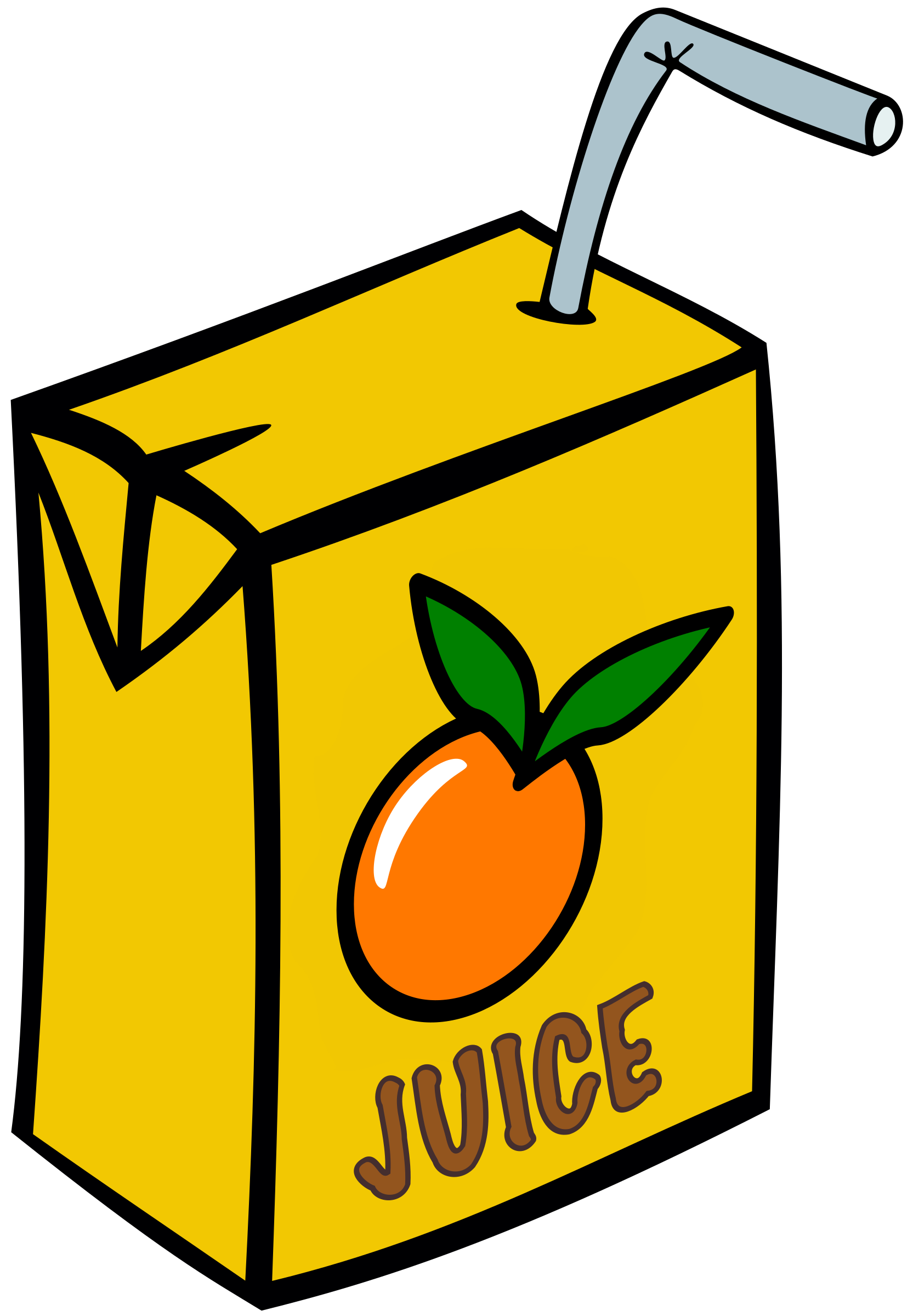 Orange Juice Box Drink by j4p4n