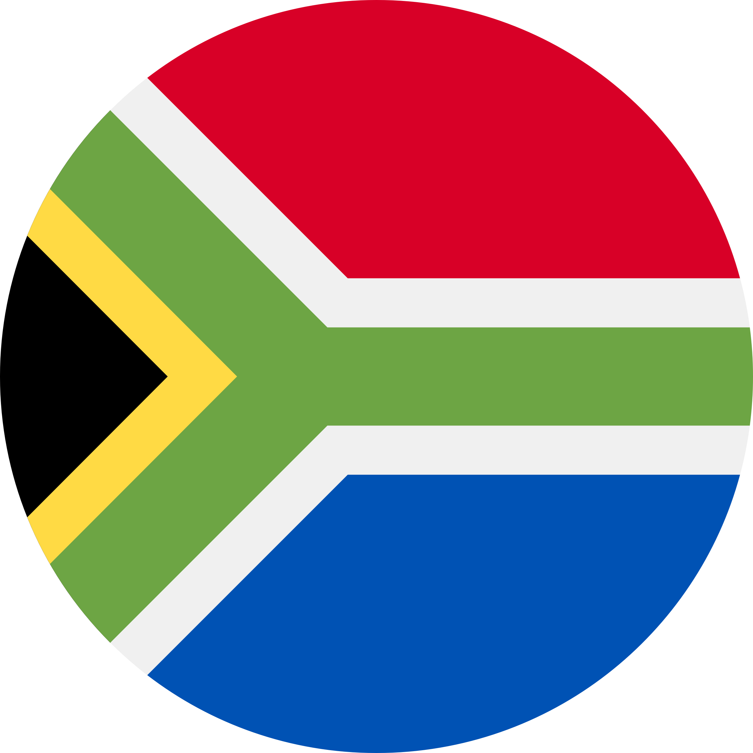 Flag South Africa by Issi