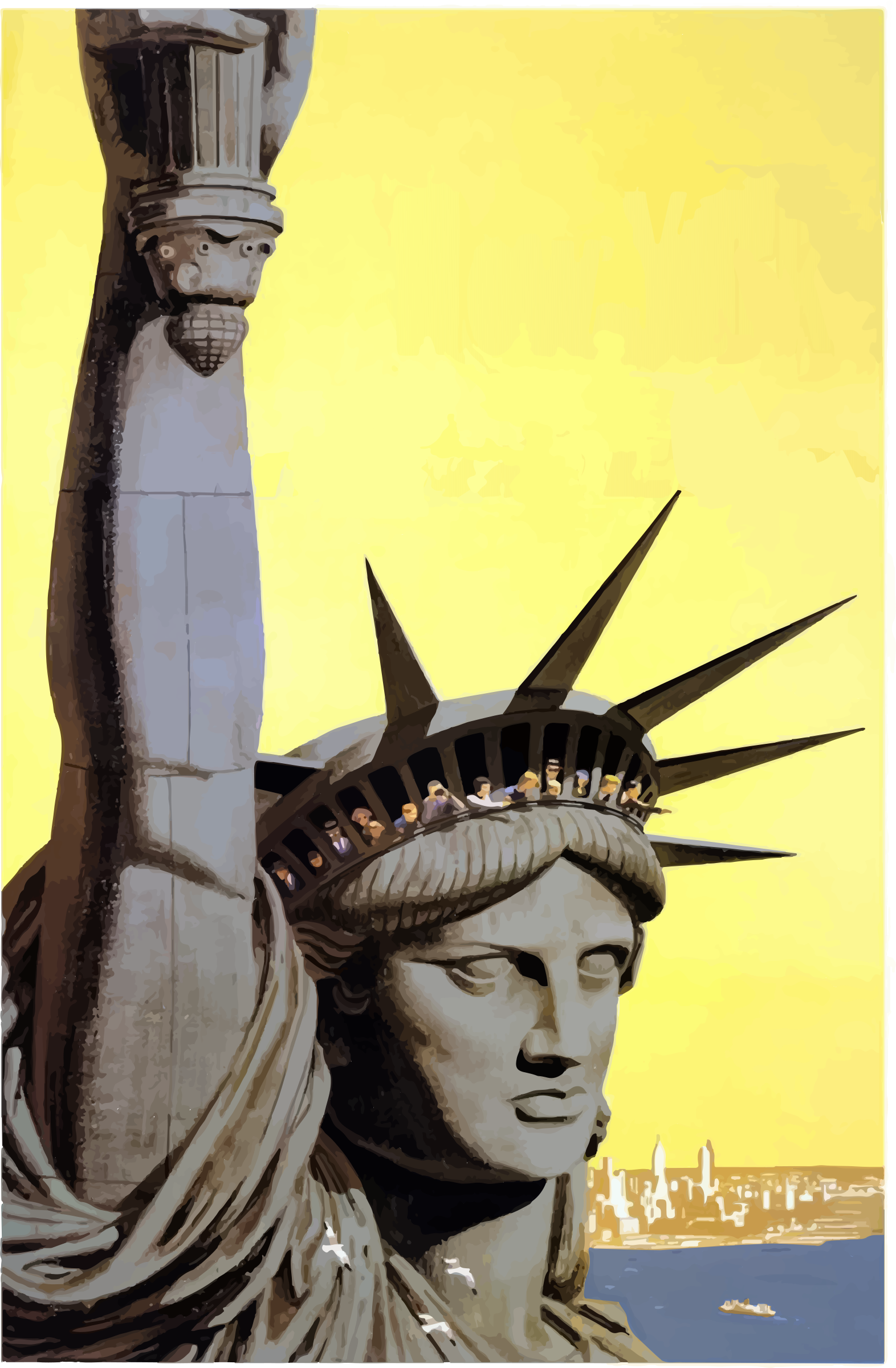 Statue of Liberty by j4p4n