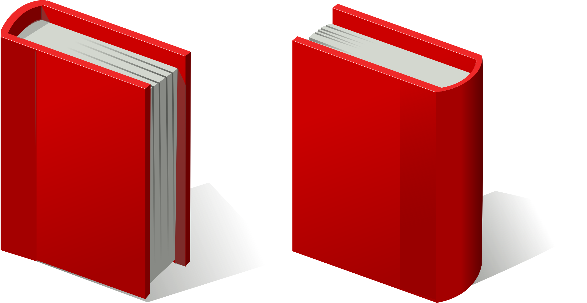 pair of red books by rg1024
