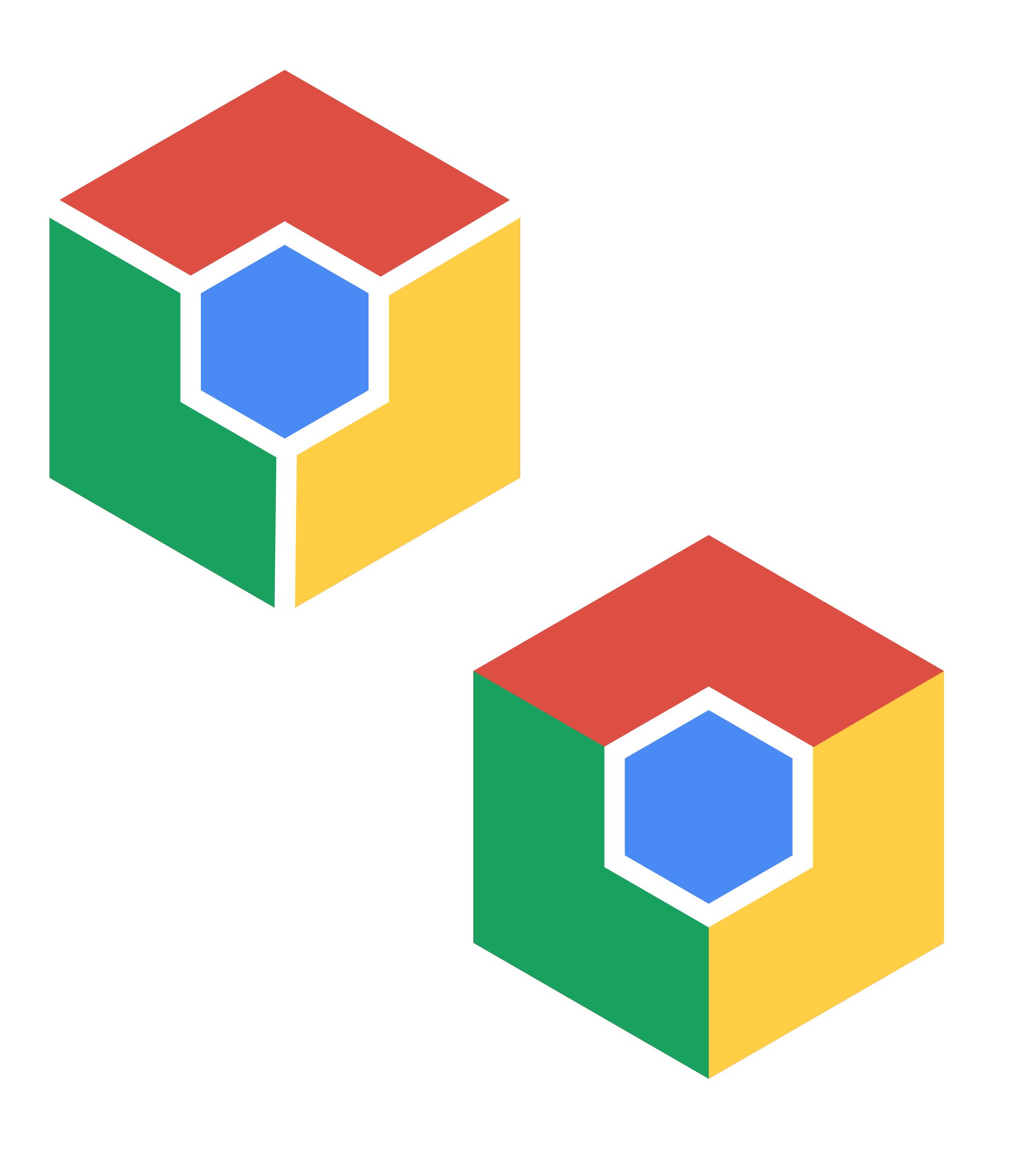 chrome inspired hexagon logo color by monsterbraingames