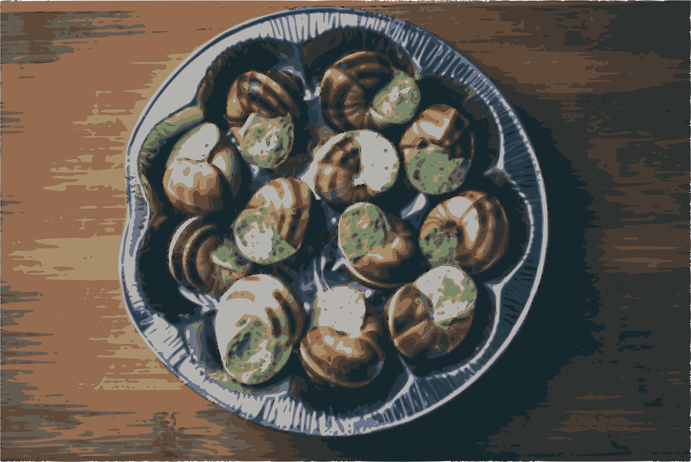 Gourmet Dish Escargot by j4p4n