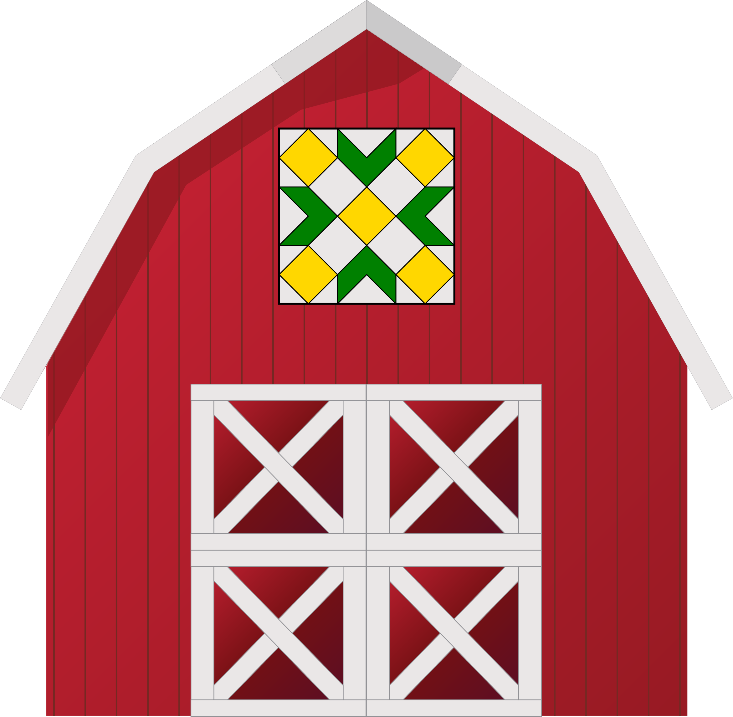 Barn Quilt 1 by JayNick