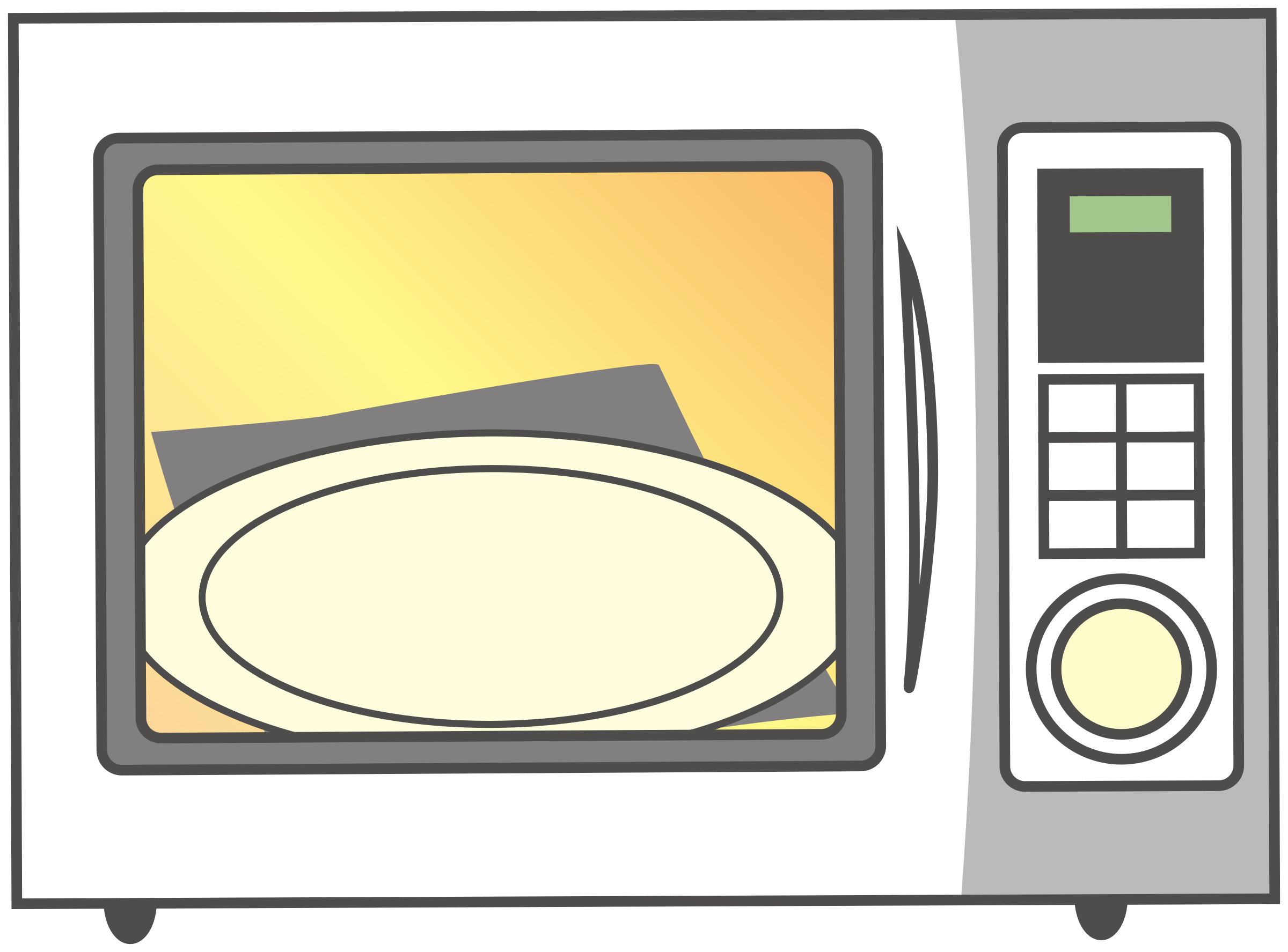 Simple Empty Microwave by j4p4n