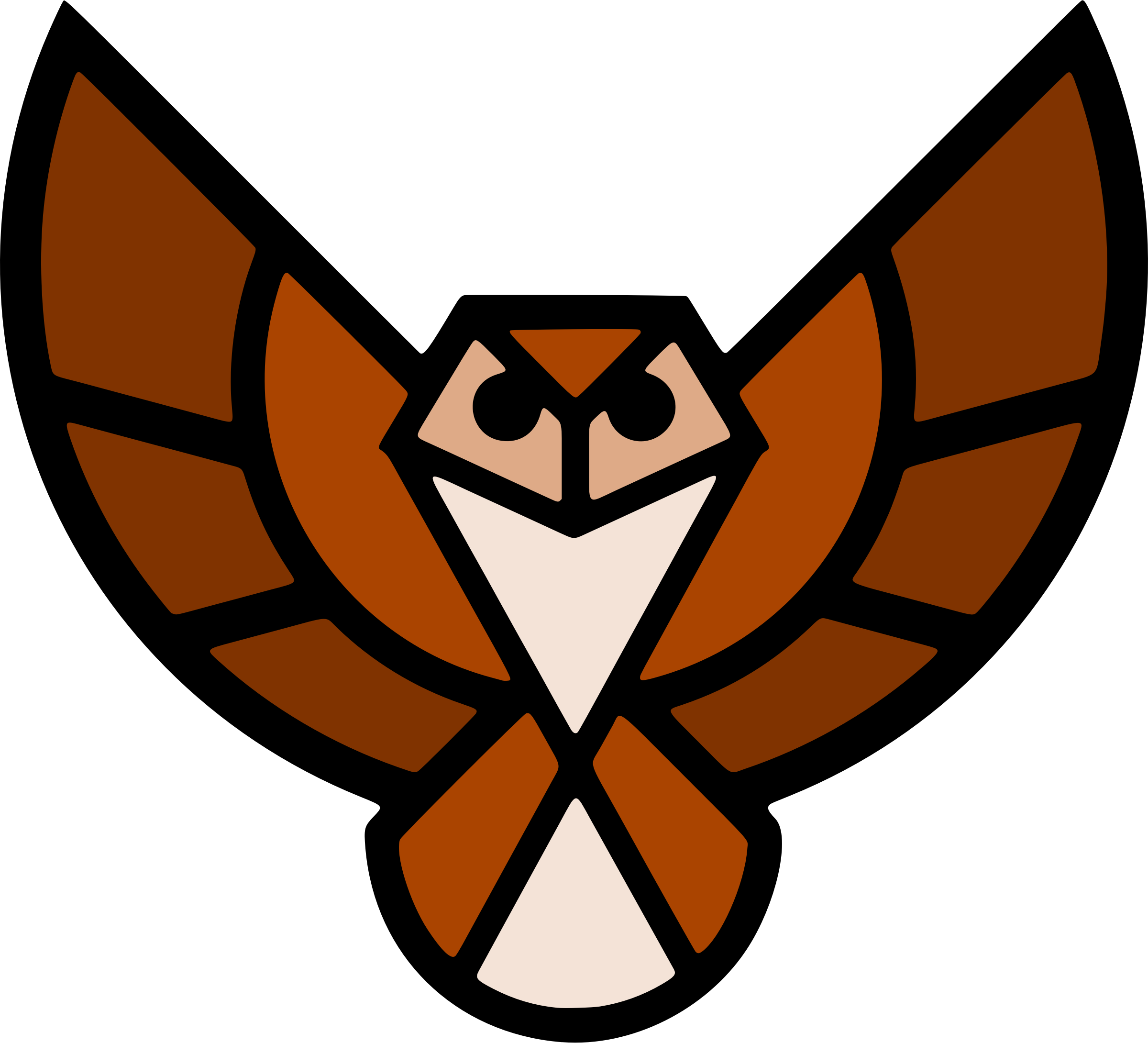 Stylised owl 2 (colour) by Firkin