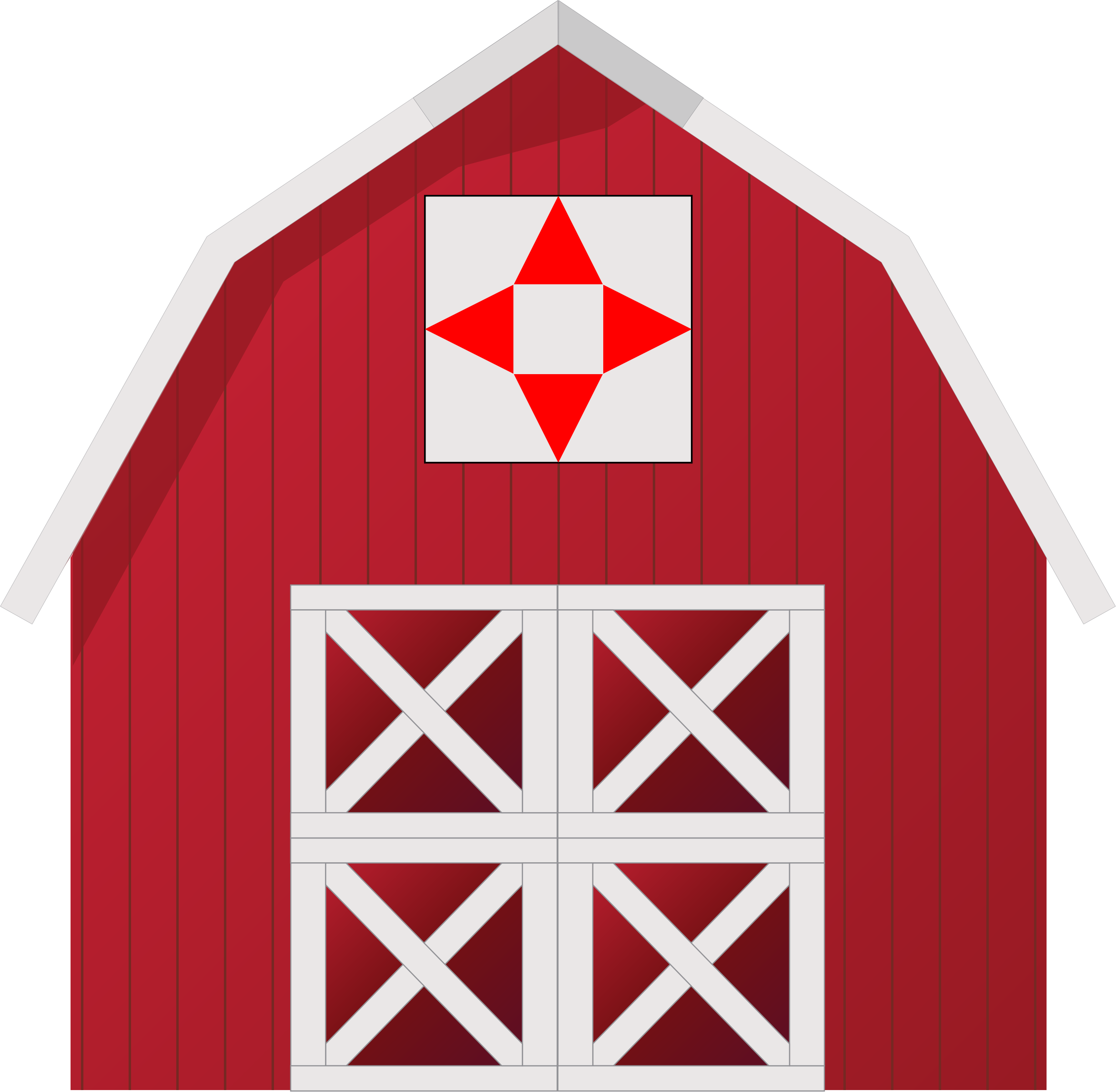 Barn Quilt 8 by JayNick