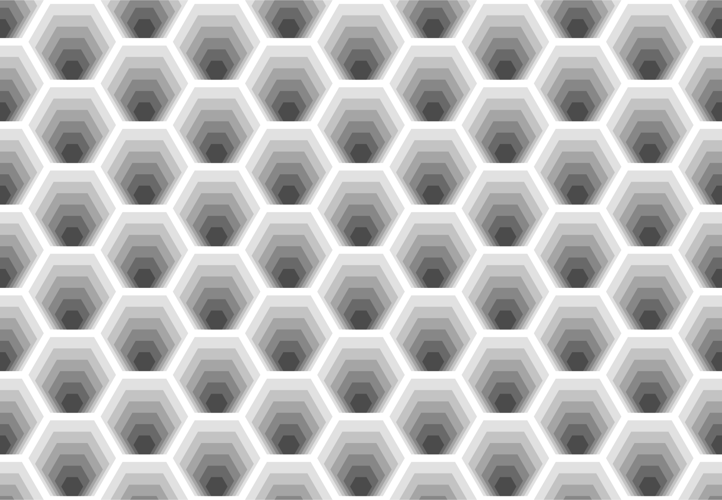Hexagonal pattern 2 by Firkin