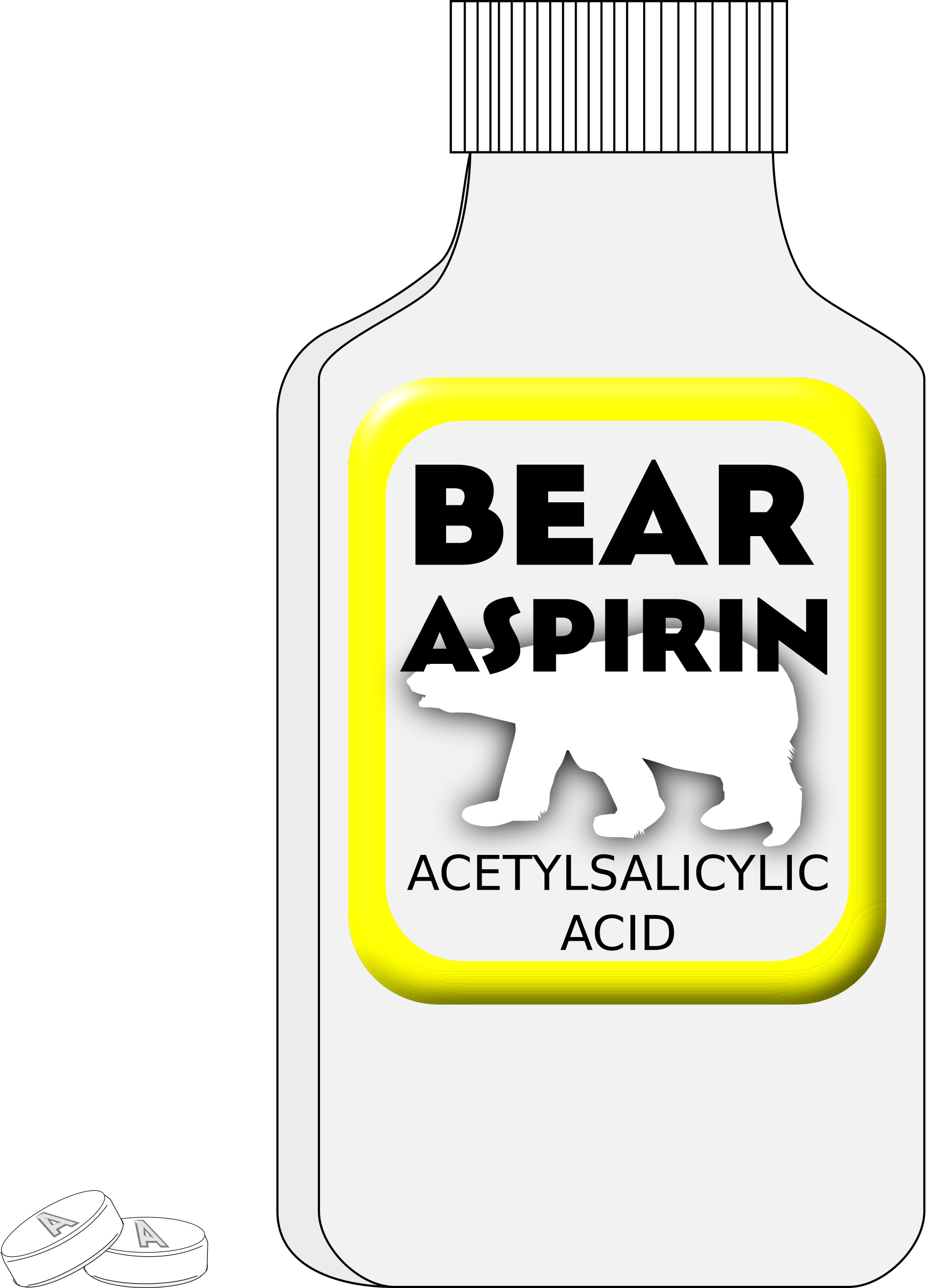 Aspirin Bottle by algotruneman