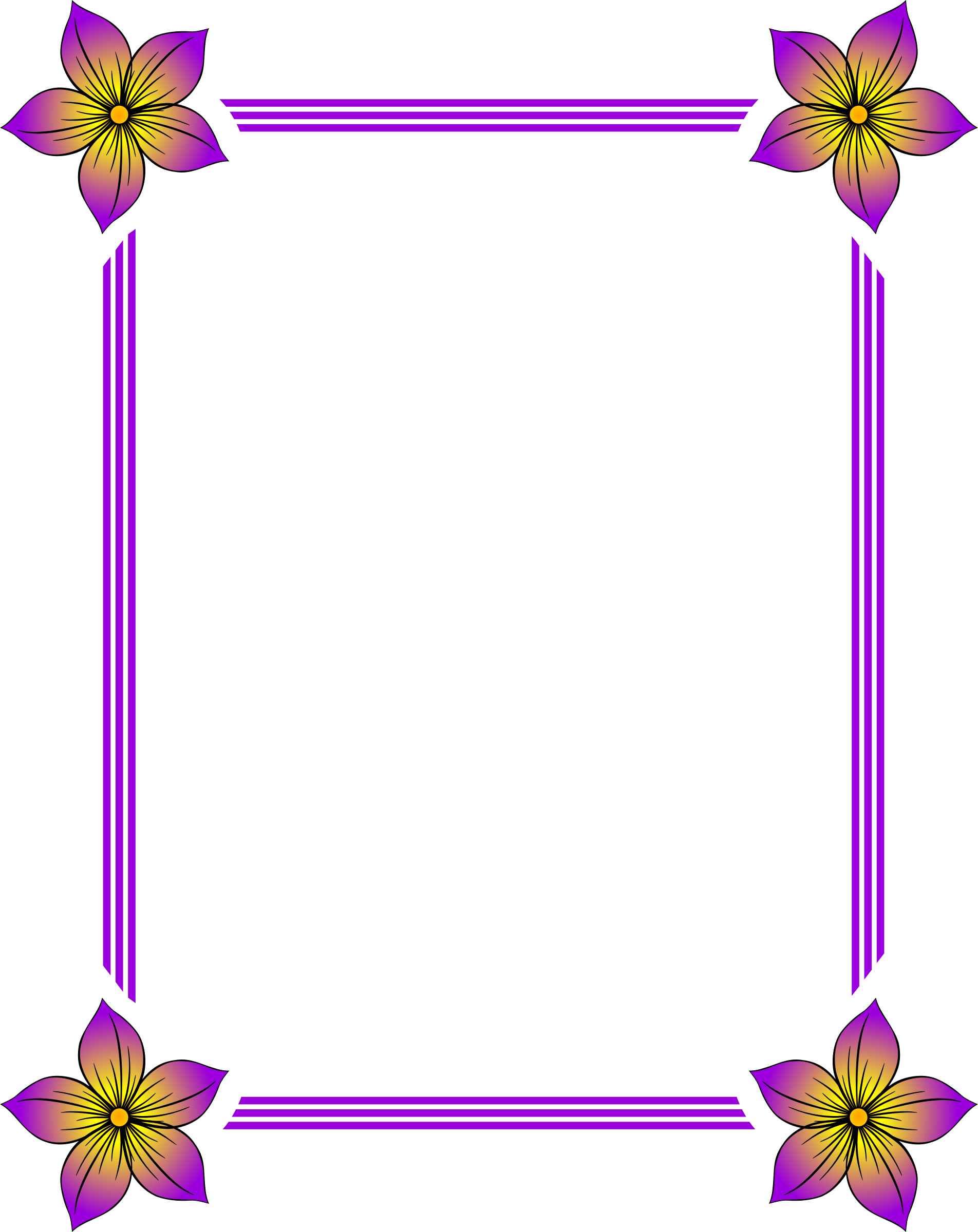 Floral frame 45 by Firkin