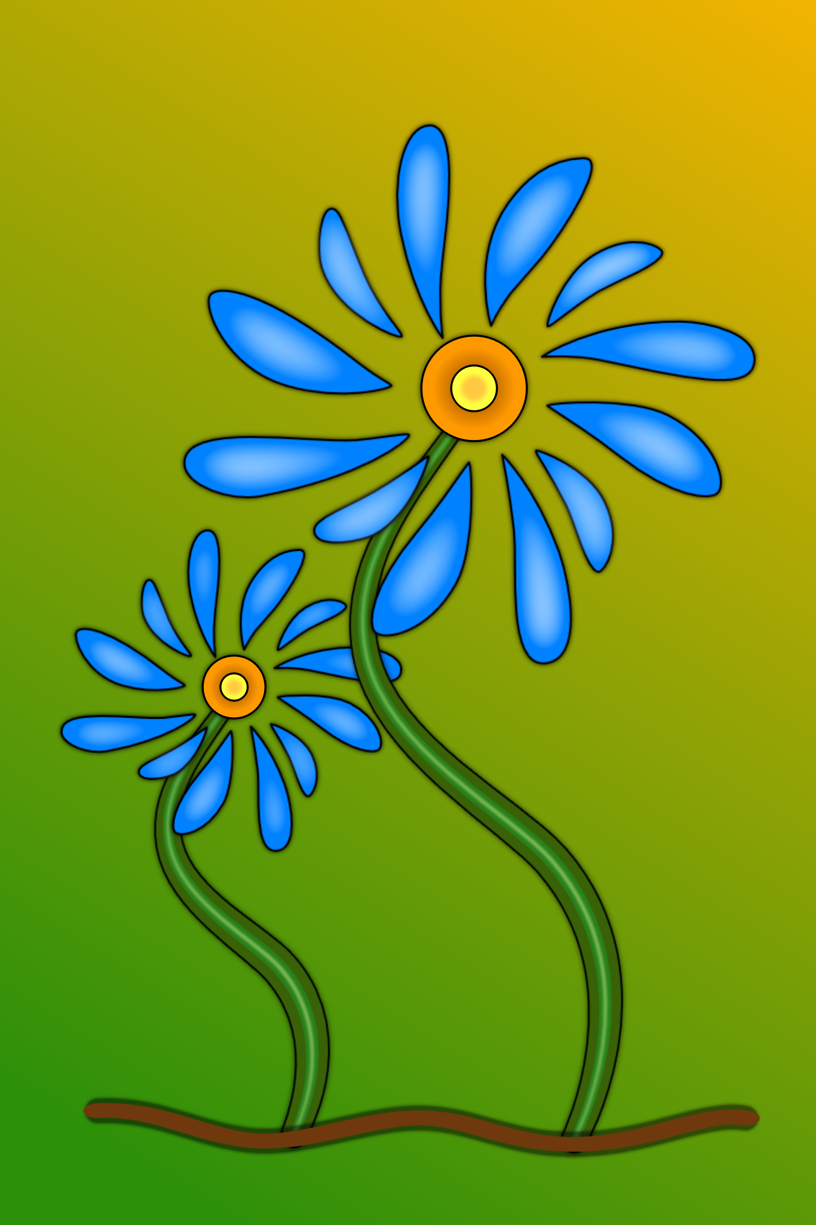 Stylised Flower by Greg.M