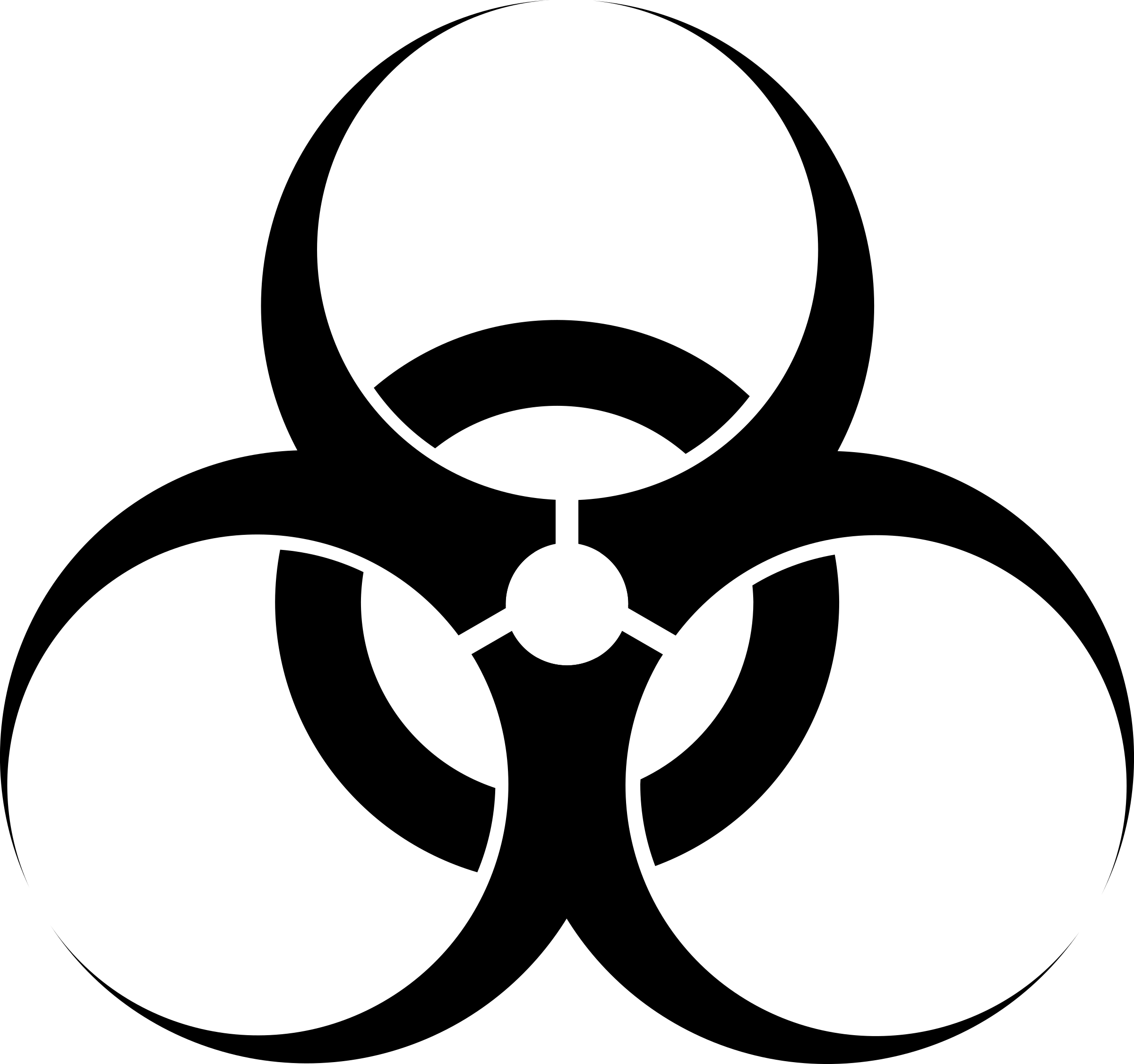 Clipart Biohazard Symbol