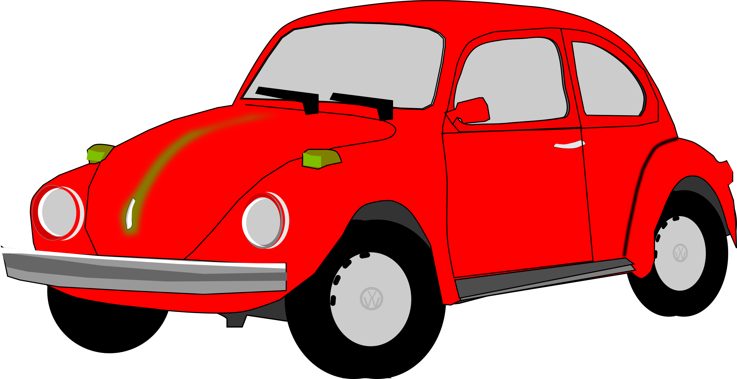 Punch Buggy Volkswagen >> Clipart - Red Beetle