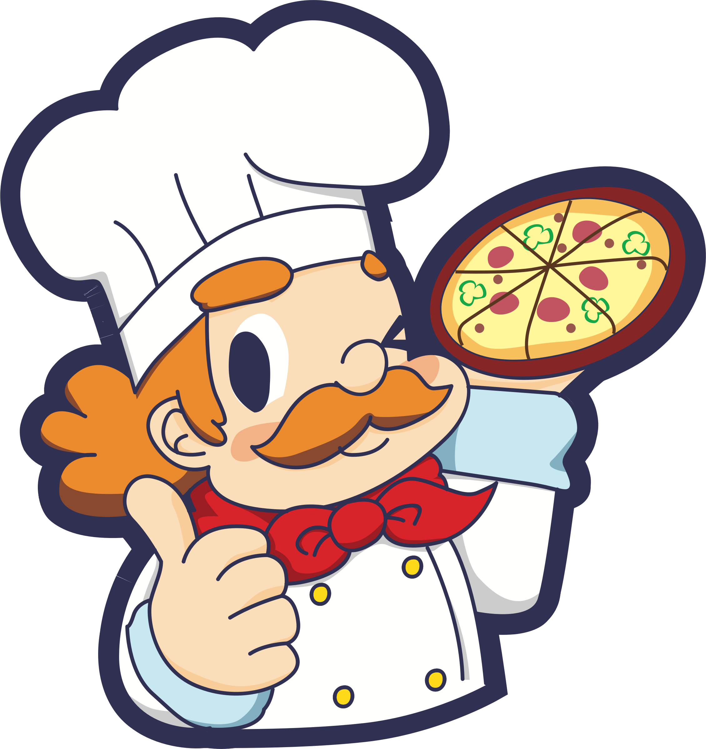 Pizza Chef by oksmith