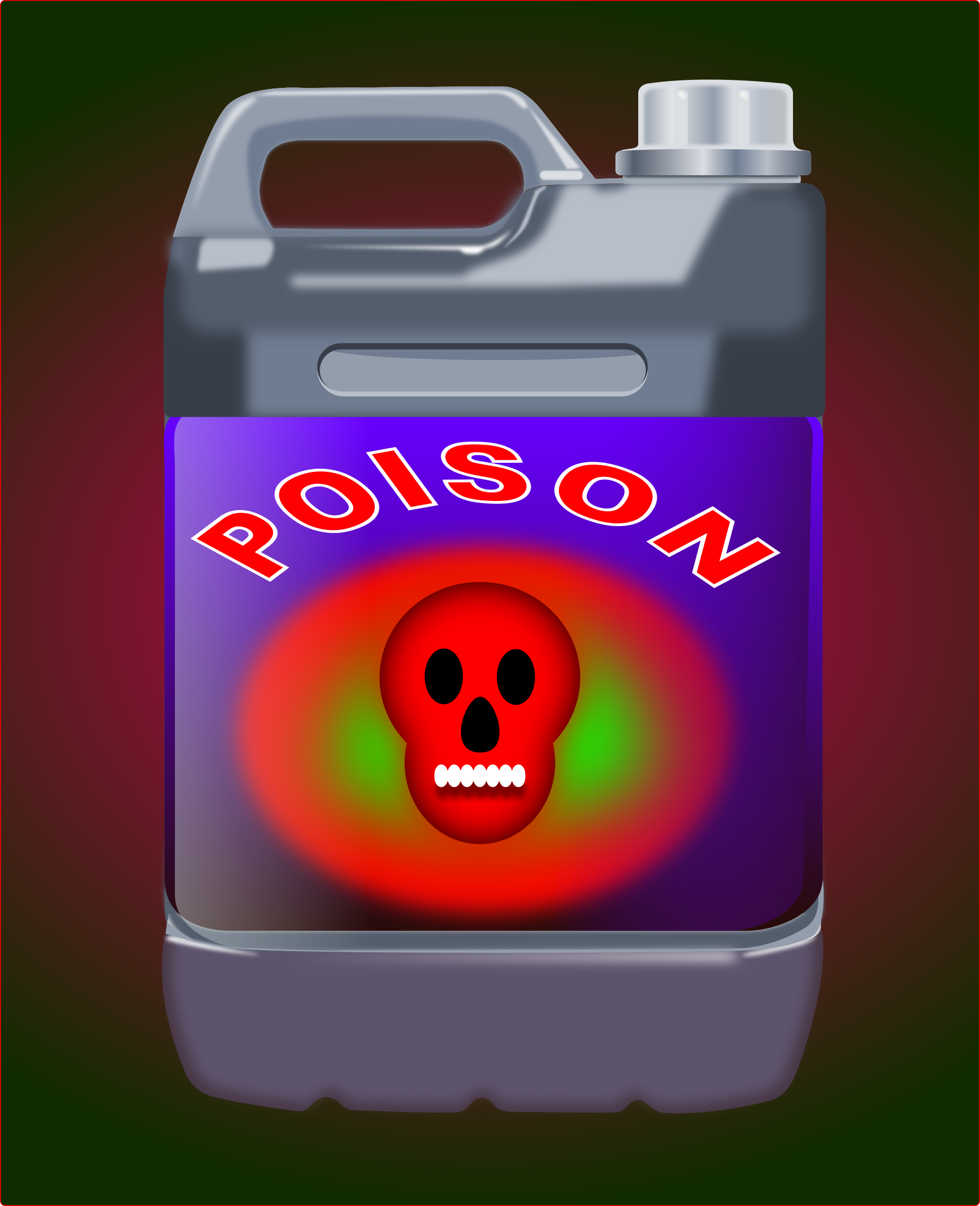 Poison Canister by j4p4n