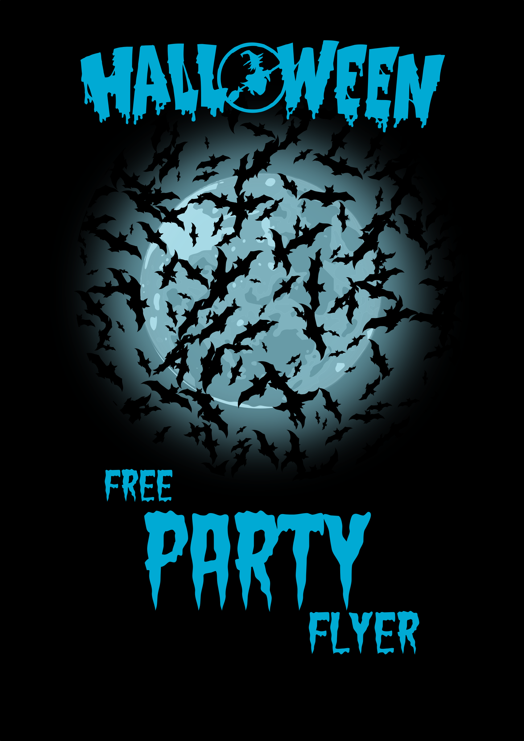 Halloweenn Party Flyer2 by Chrisdesign