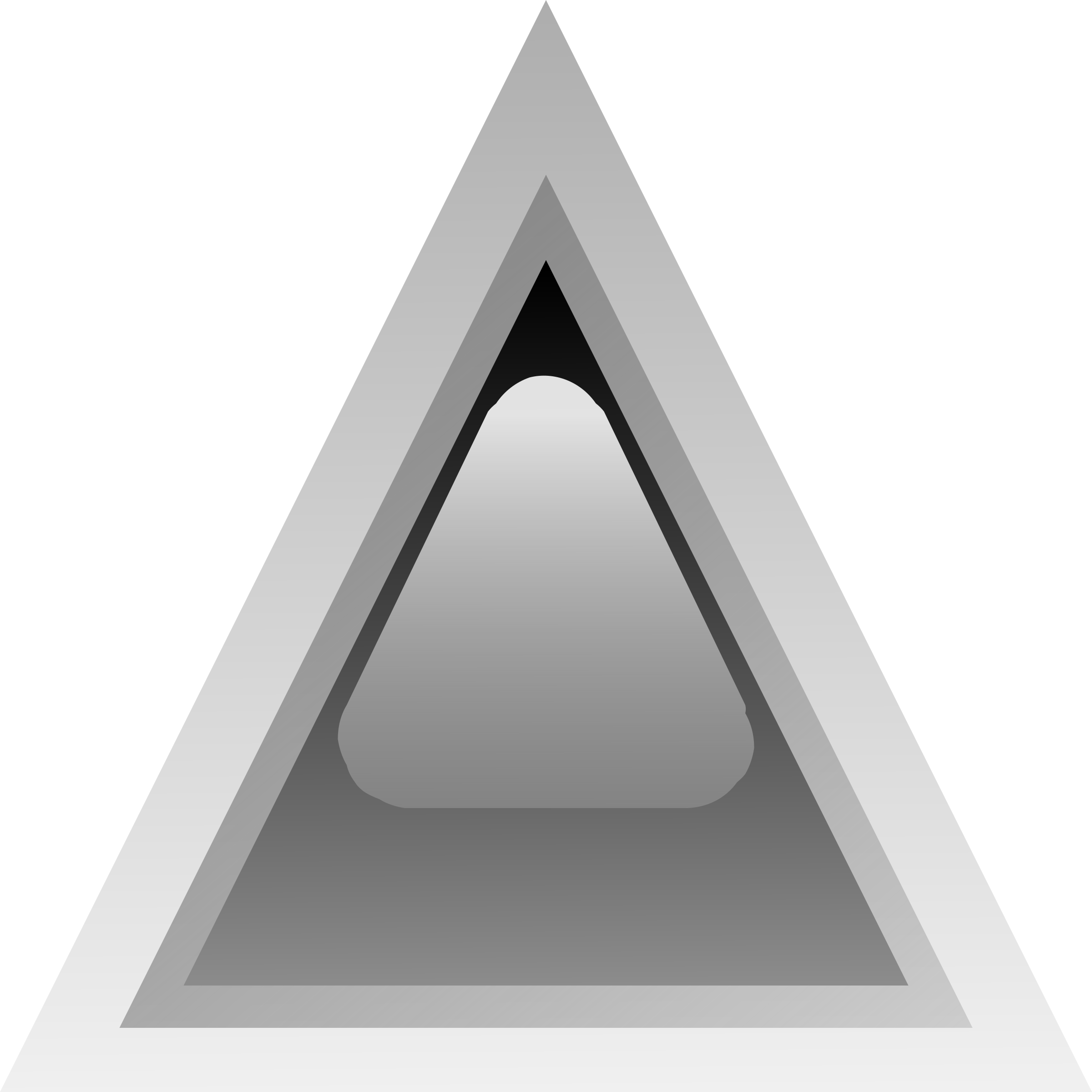 led triangular black by Anonymous