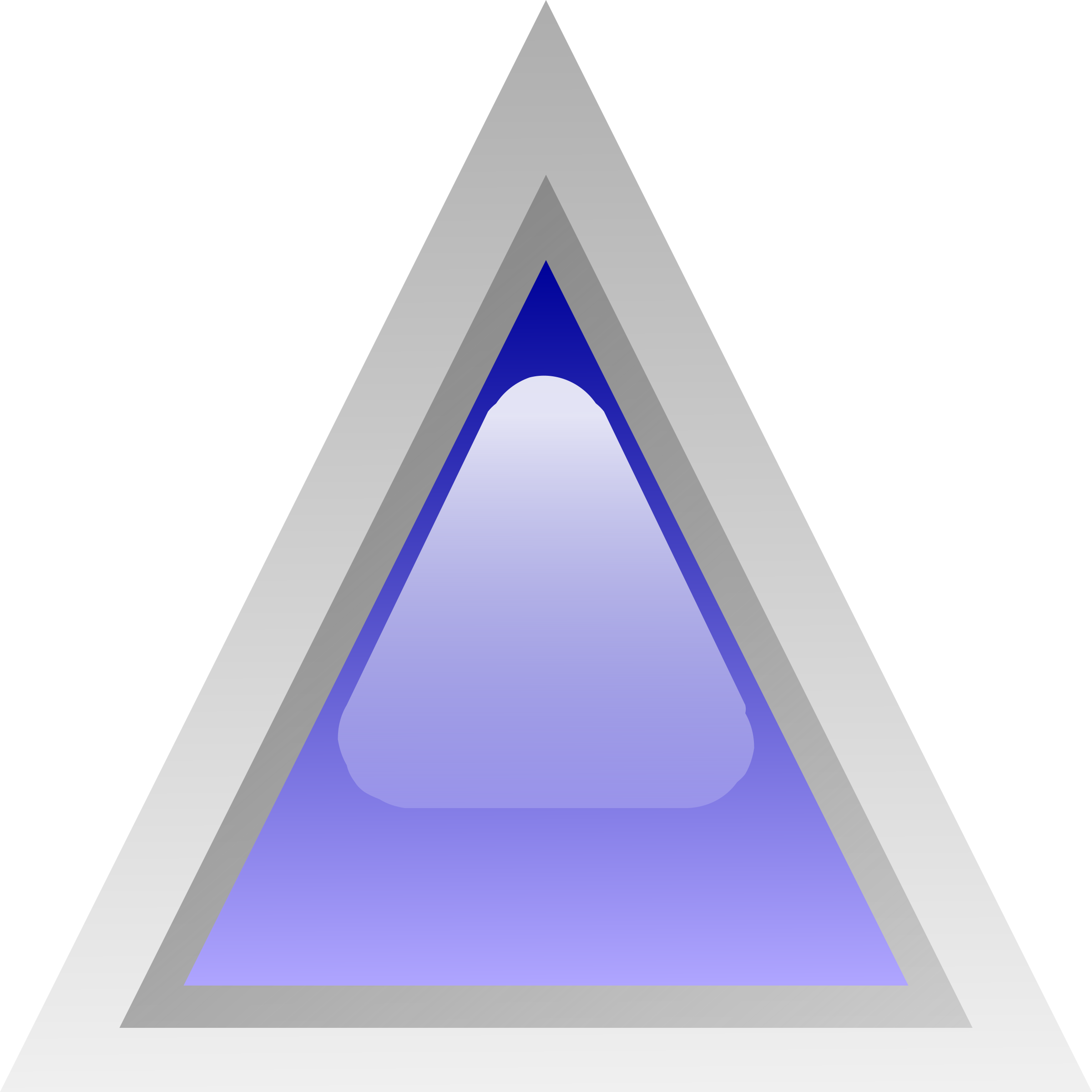 led triangular blue by Anonymous