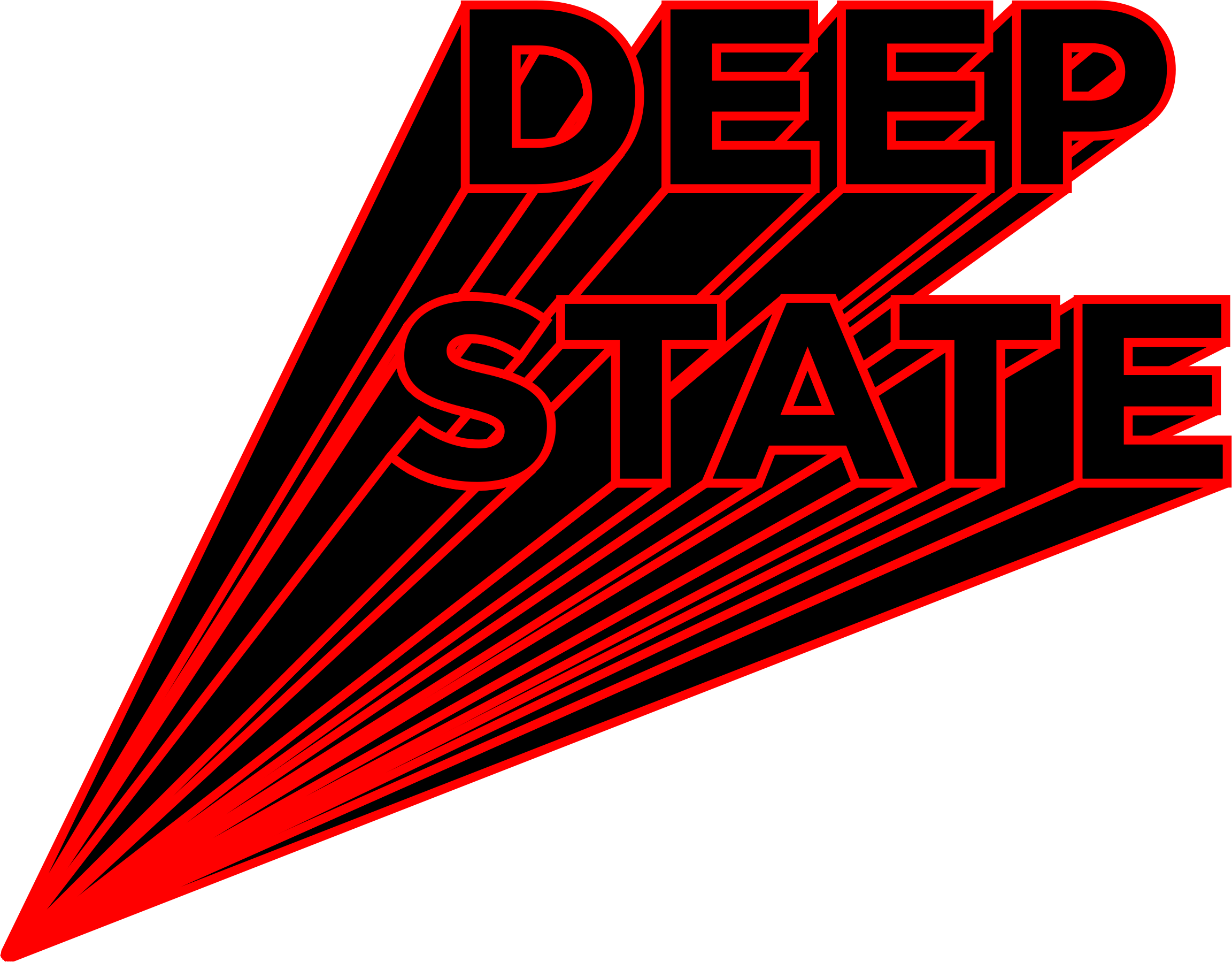 Deep State Typography by GDJ
