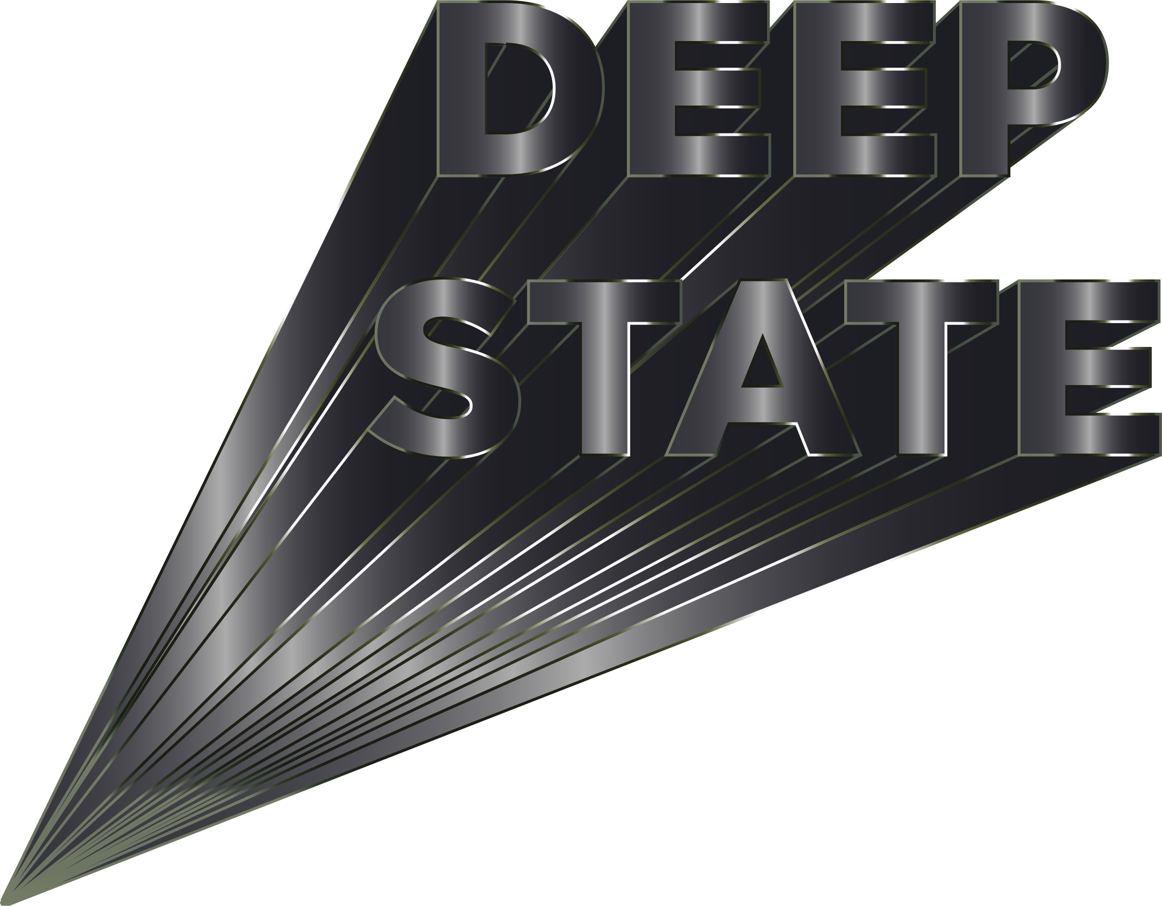Deep State Typography 3 by GDJ