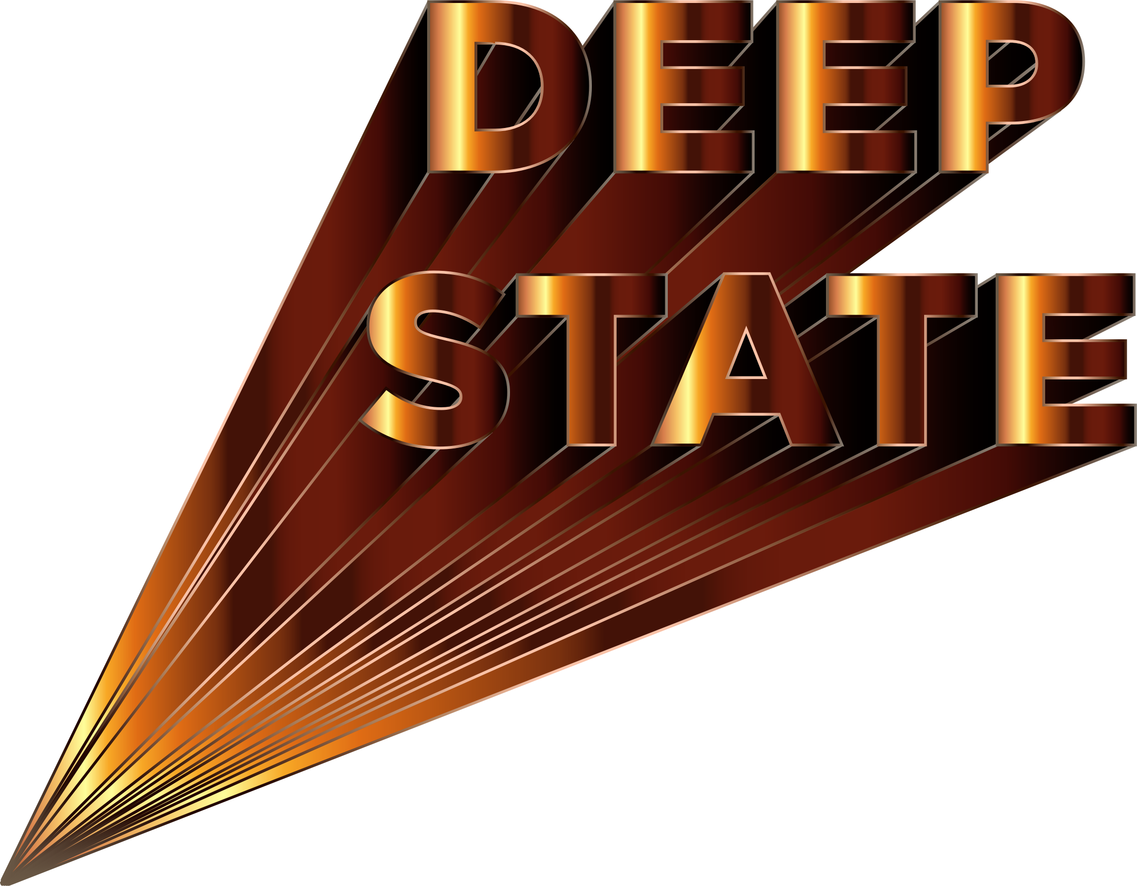 Deep State Typography 4 by GDJ