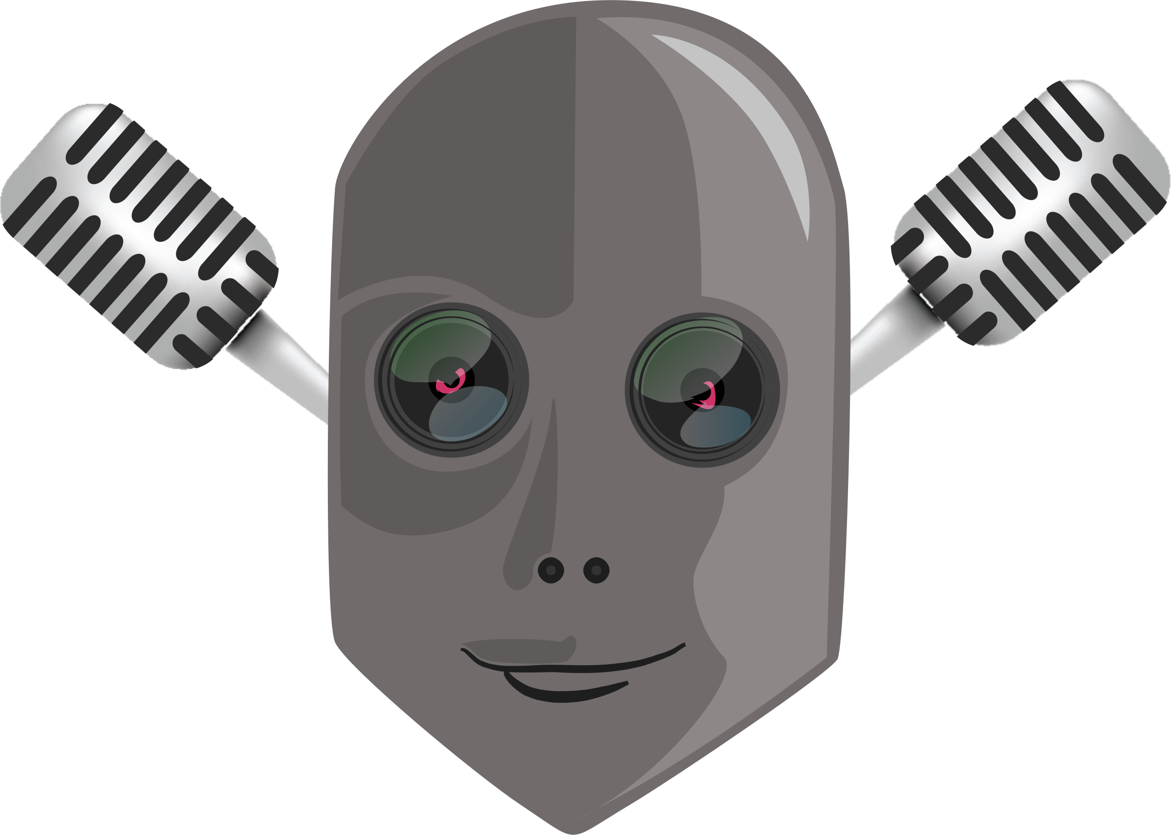 Robot head by nefigcas
