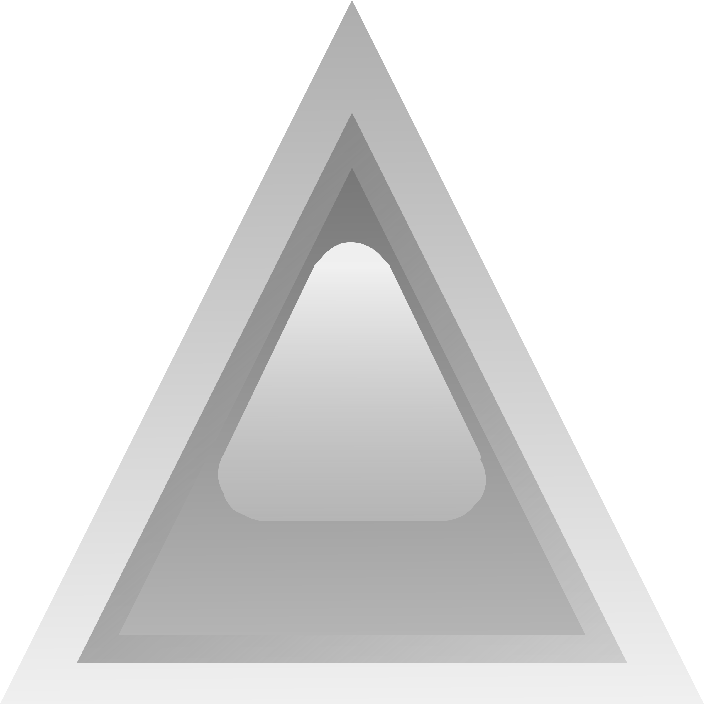 led triangular grey by Anonymous