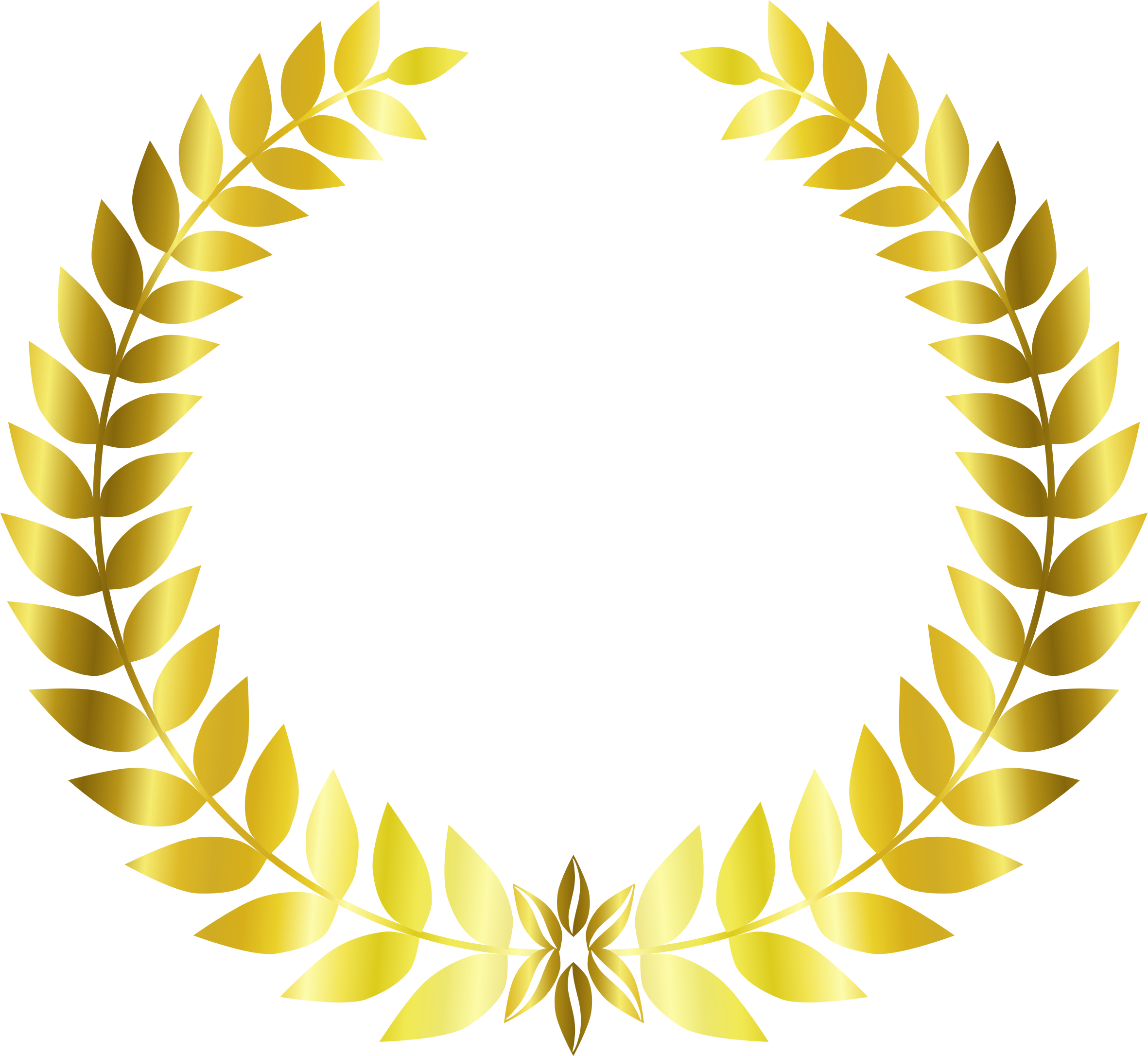 Gold Laurel Wreath by Arvin61r58