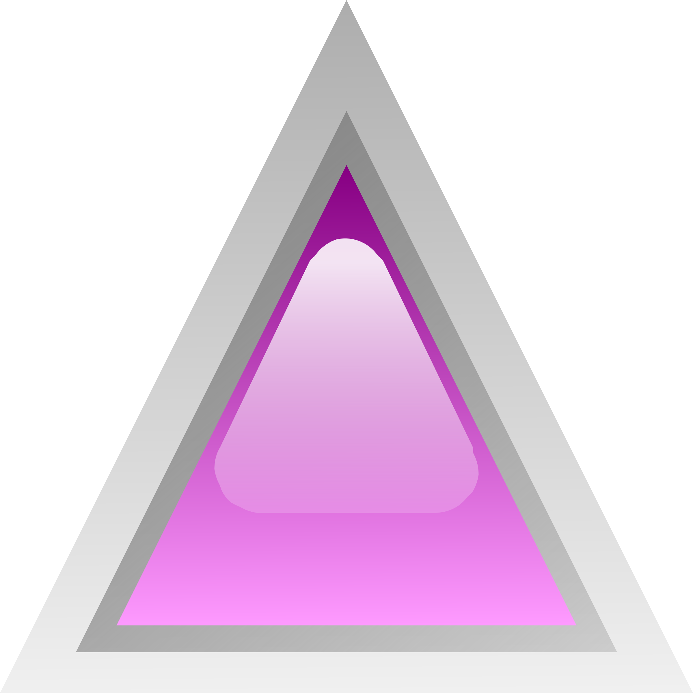 led triangular purple by Anonymous