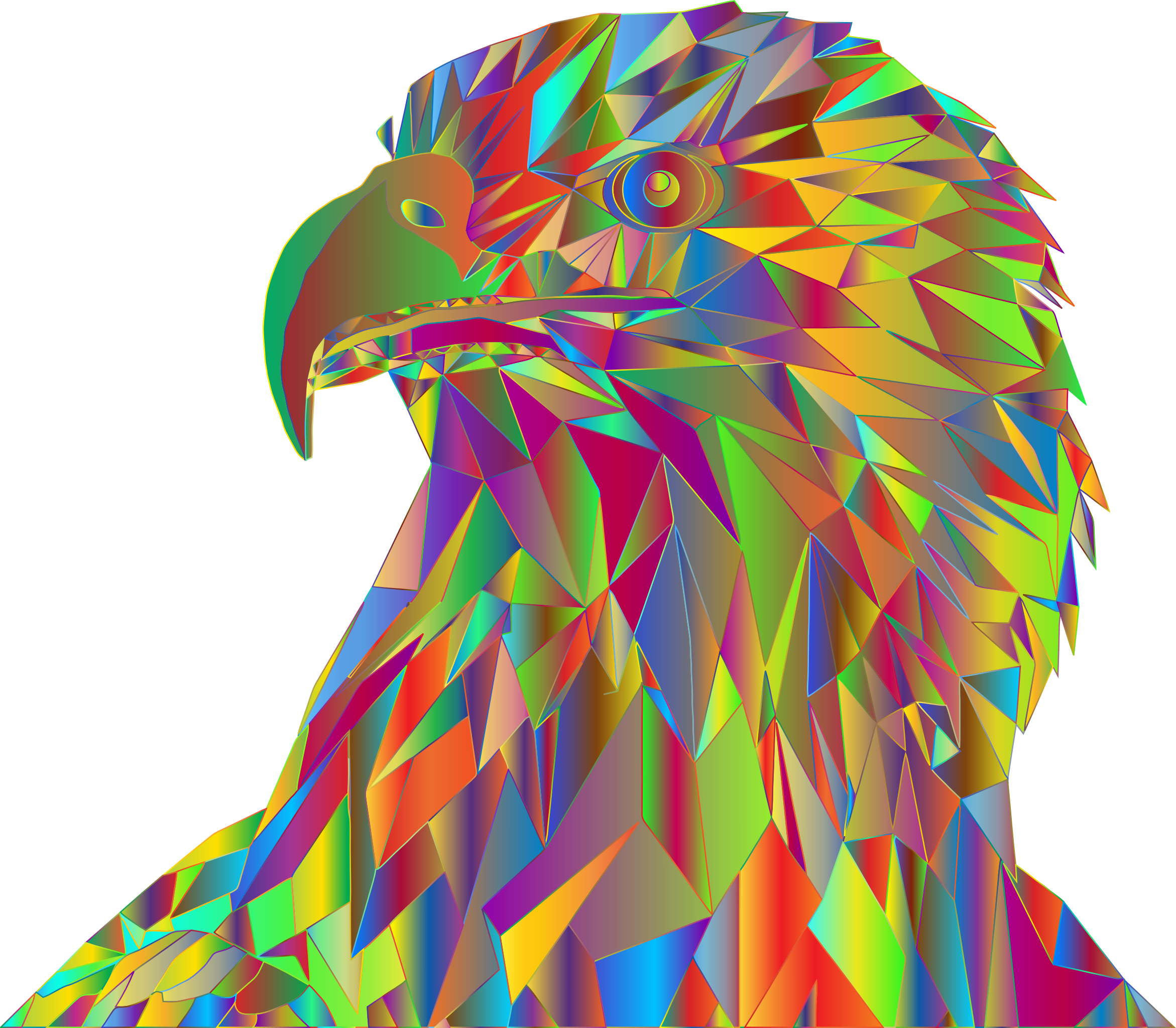 Low Poly Bald Eagle By Sharpi1980 Prismatic by GDJ