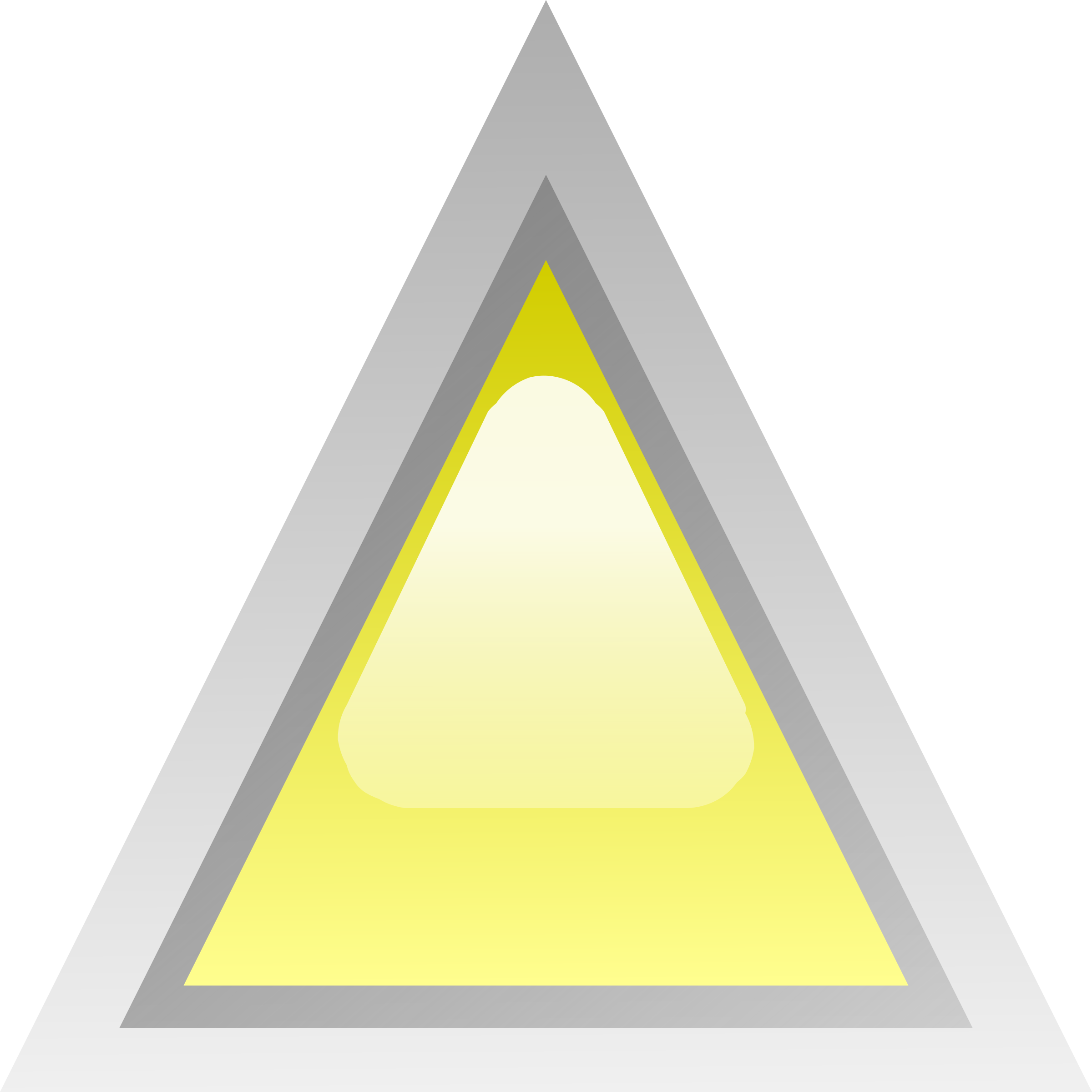 led triangular yellow by Anonymous
