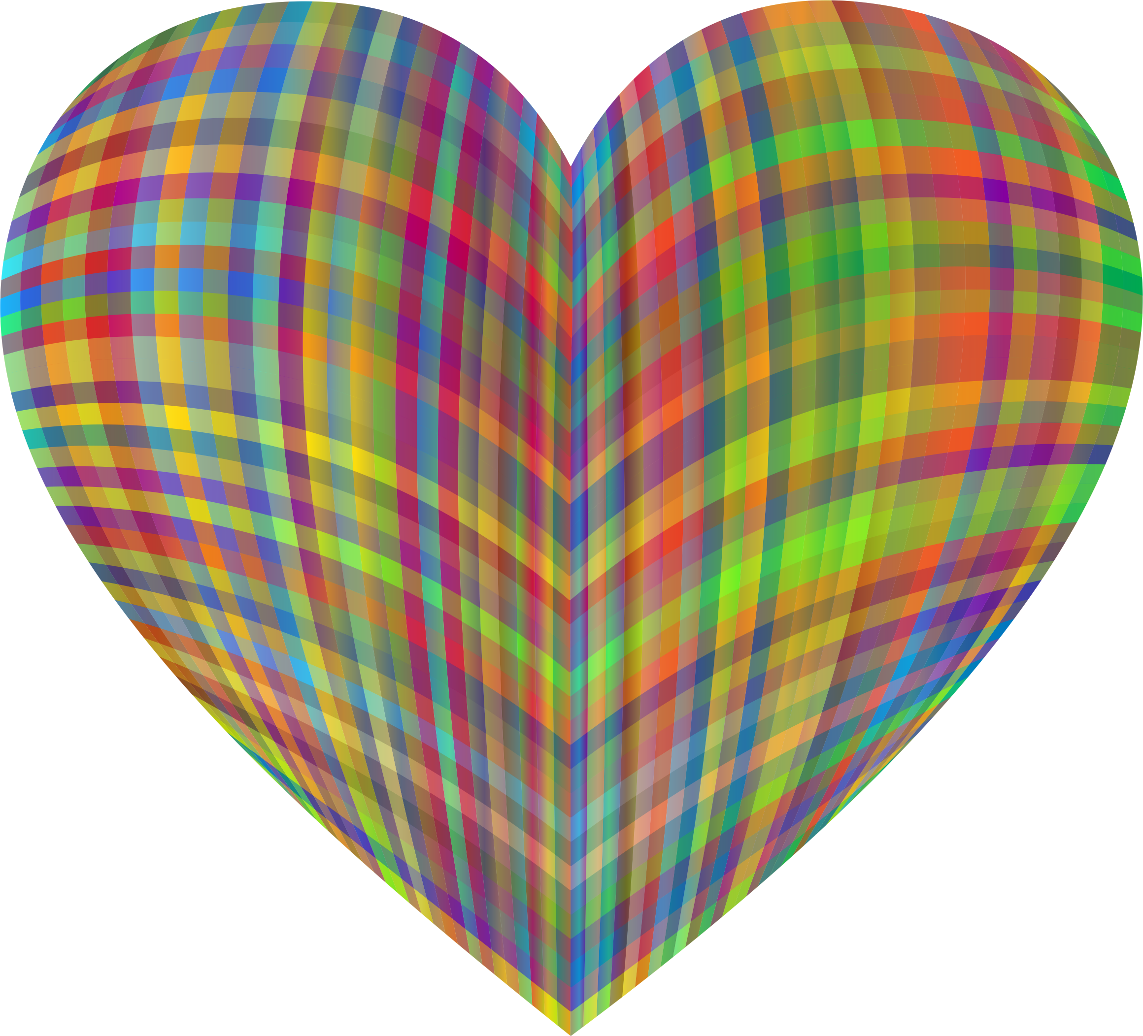 Gingham Heart by GDJ