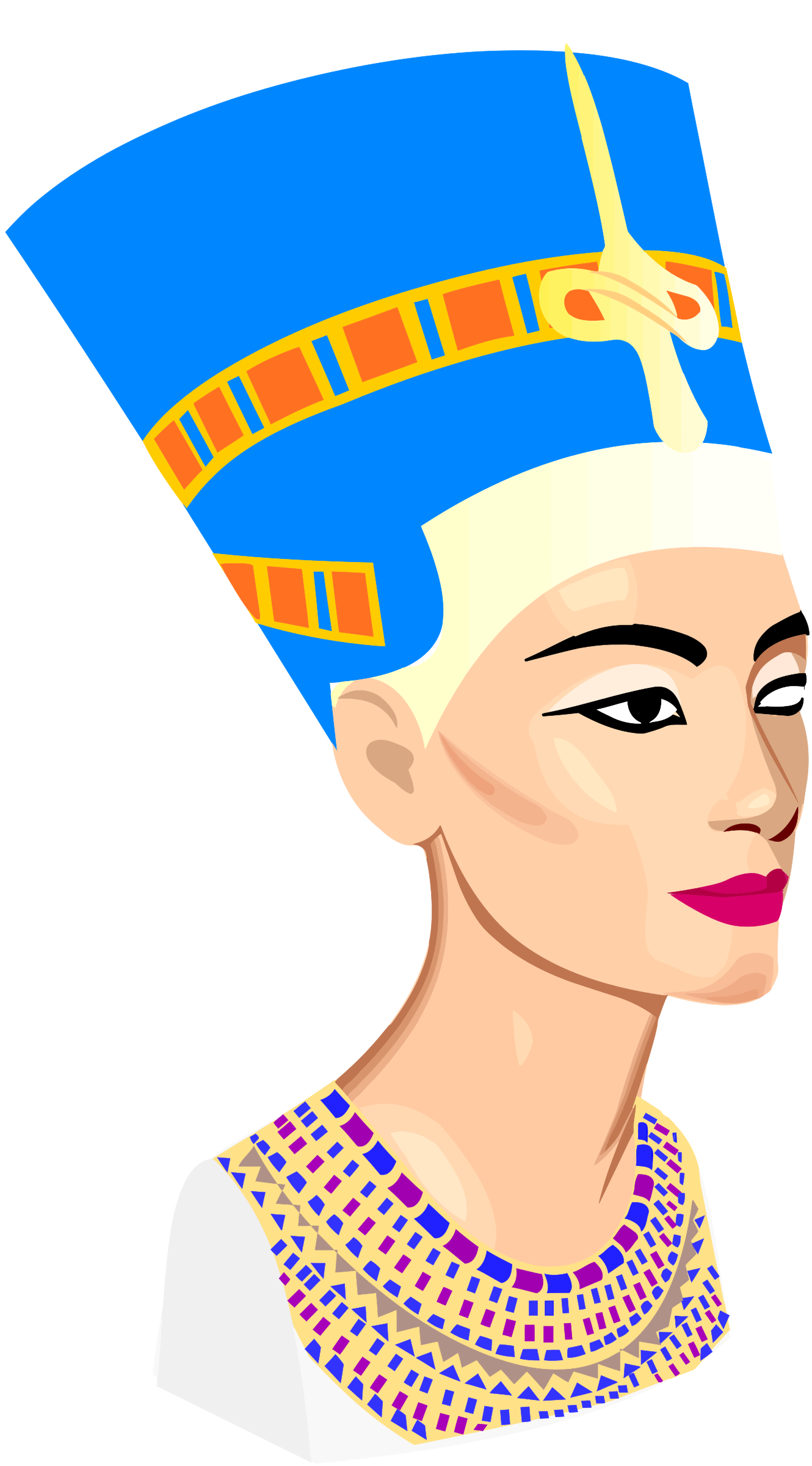 Nefertiti Clip Art by Balaha