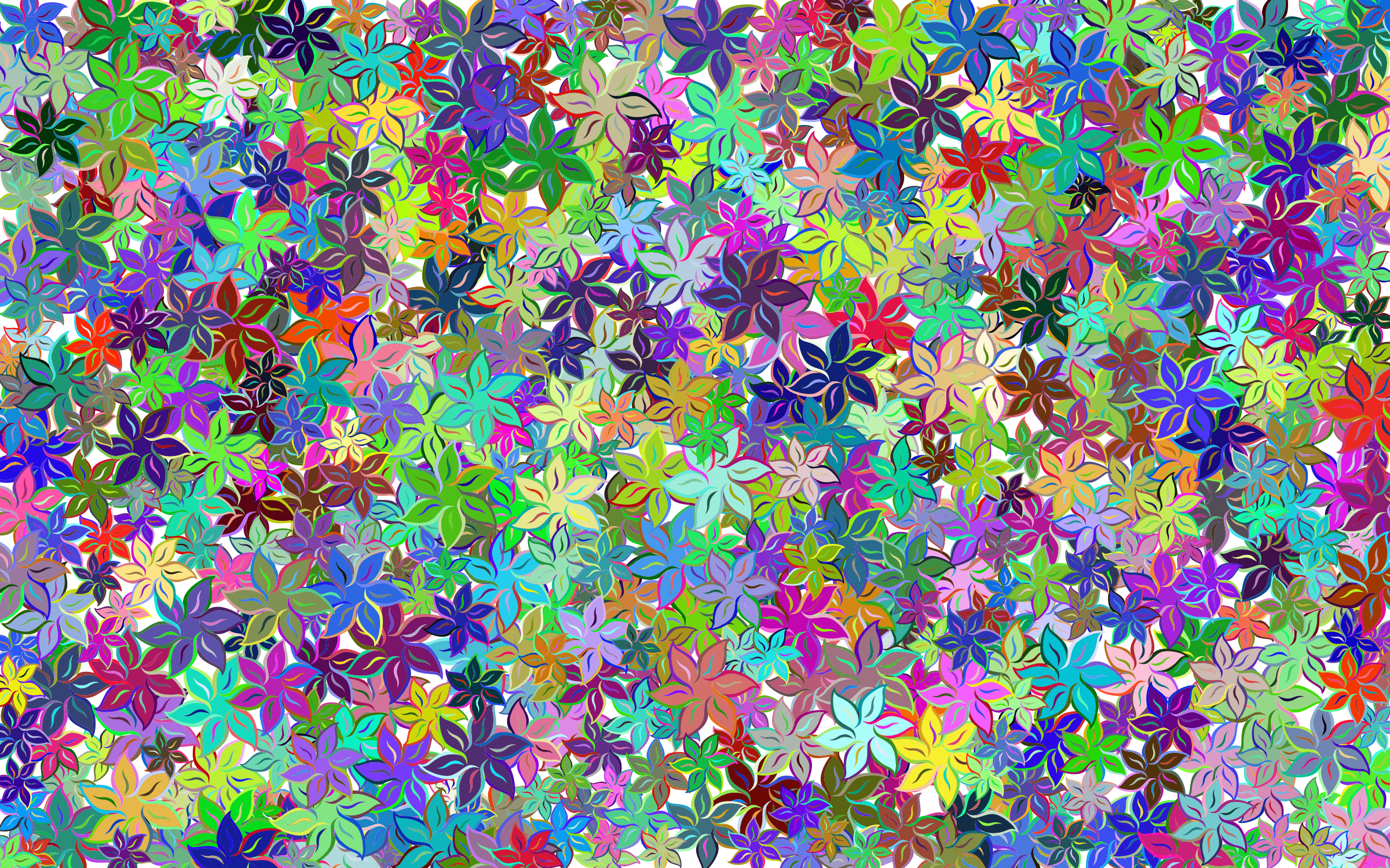 Floral Wallpaper by GDJ