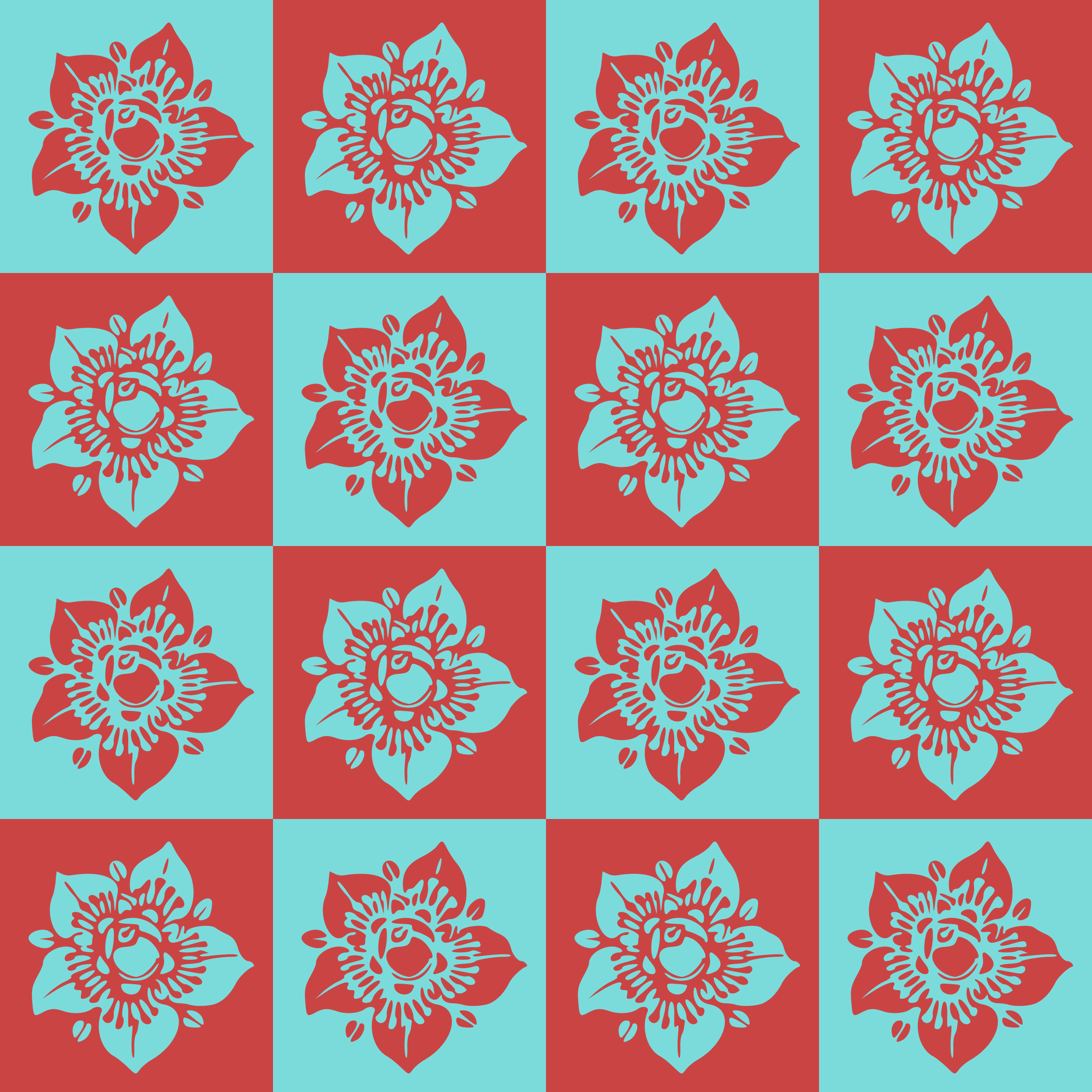 Floral background 23 by Firkin