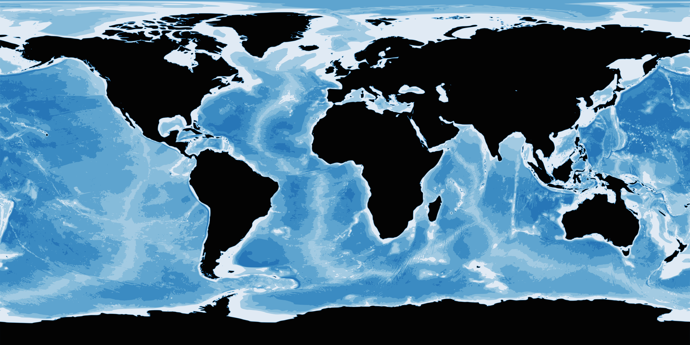 Bathymetry Map by j4p4n